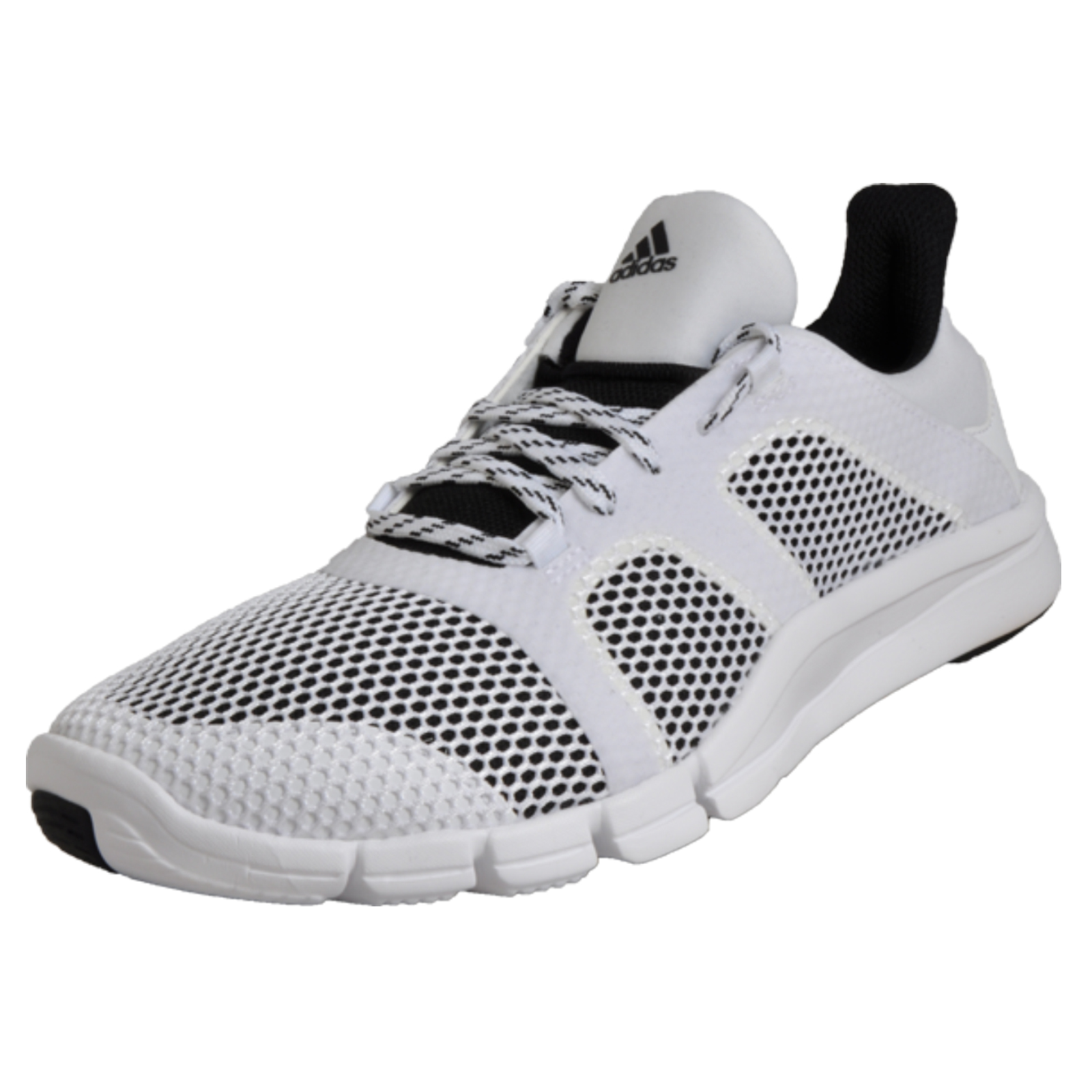 5d1d8003b Details about Adidas Adipure Flex Womens Jogging Fitness Gym Trainers White