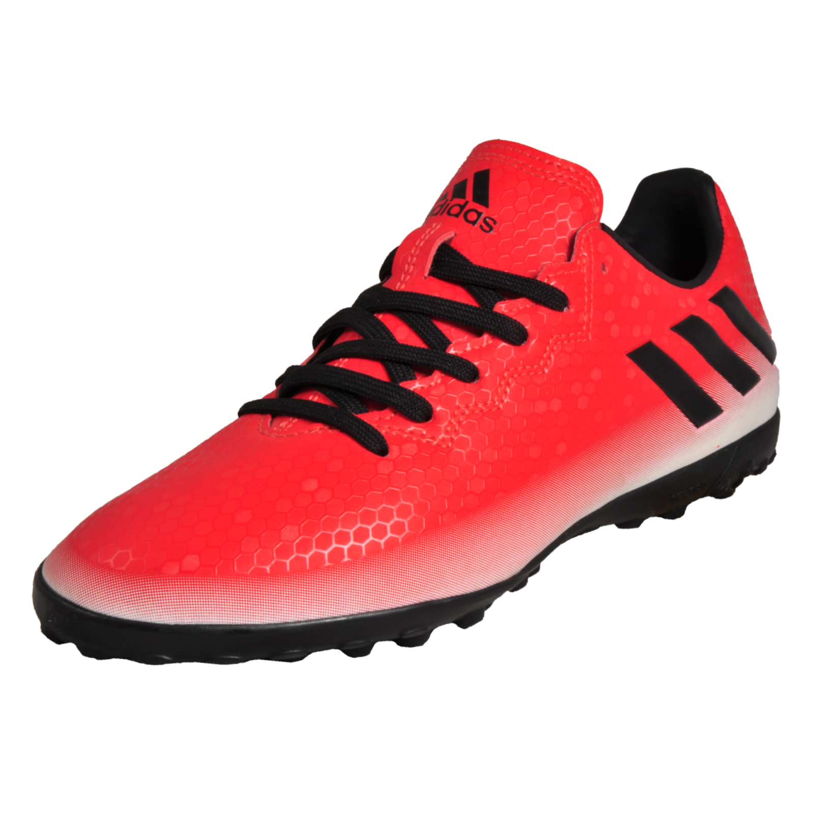 best sneakers 387a1 fa9ea Details about Adidas Messi 16.4 TF Mens Football Astro Turf Indoor Trainers  Red