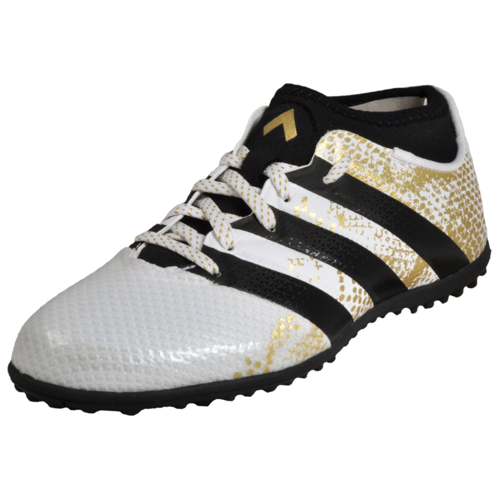74fb74c41 Adidas Ace 16.3 Primemesh TF Junior Kids Boys Astro Turf Football Trainers  White