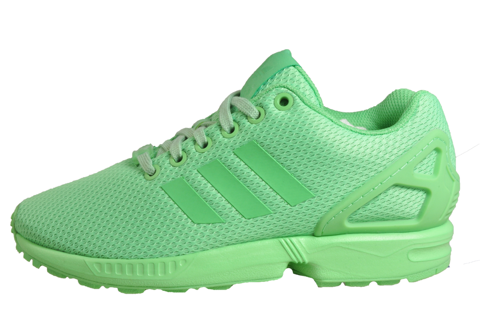7d16f460e22b6 Adidas Originals ZX Flux Women s Classic Casual Gym Fitness Trainers Green