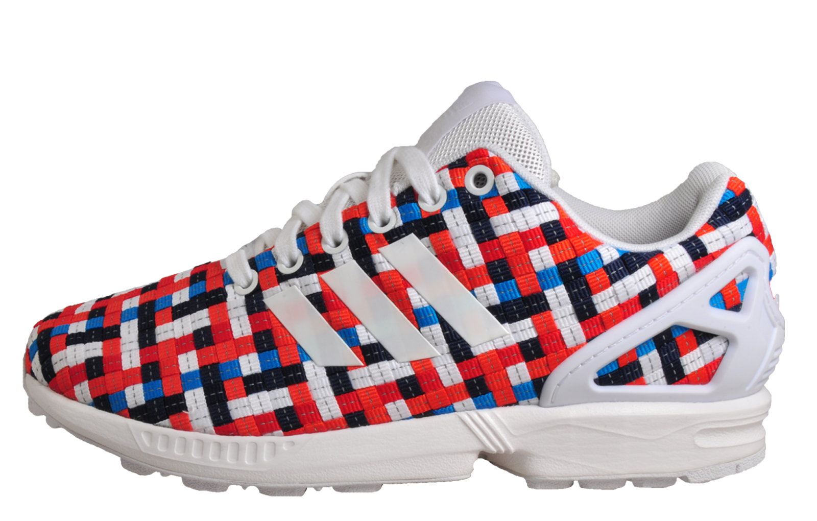 3728a223c2e2 Adidas Originals ZX Flux Mens Classic Casual Retro Fashion Trainers Multi
