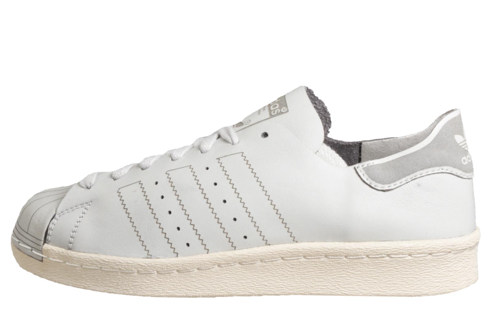 huge selection of 3e6b1 33e89 Adidas Originals Superstar 80s Decon Women s Casual Vintage Trainers B Grade