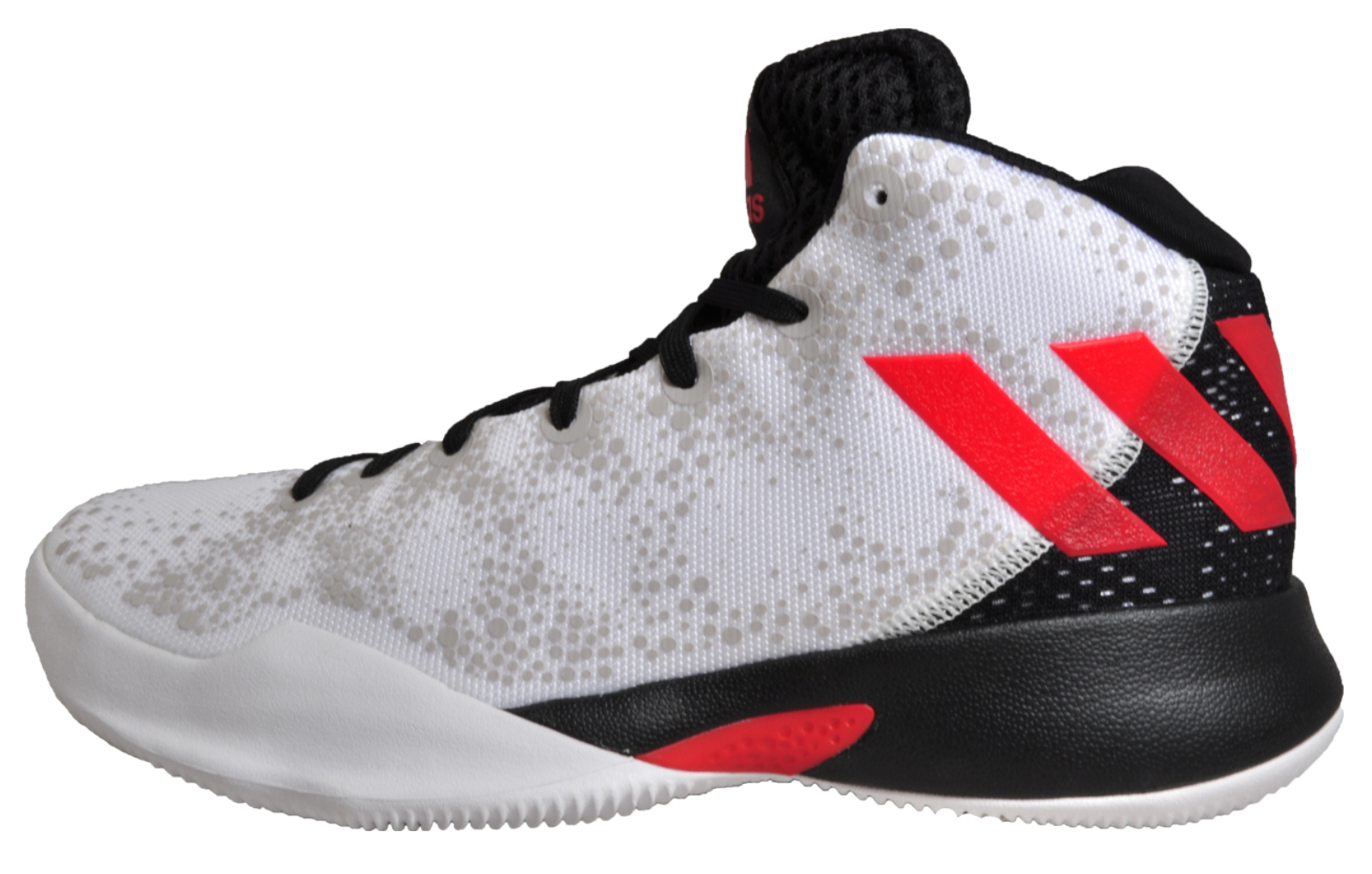 1902ac811d03 Adidas Crazy Heat Junior Boys Kids Hi-Top Basketball Trainers Sneakers
