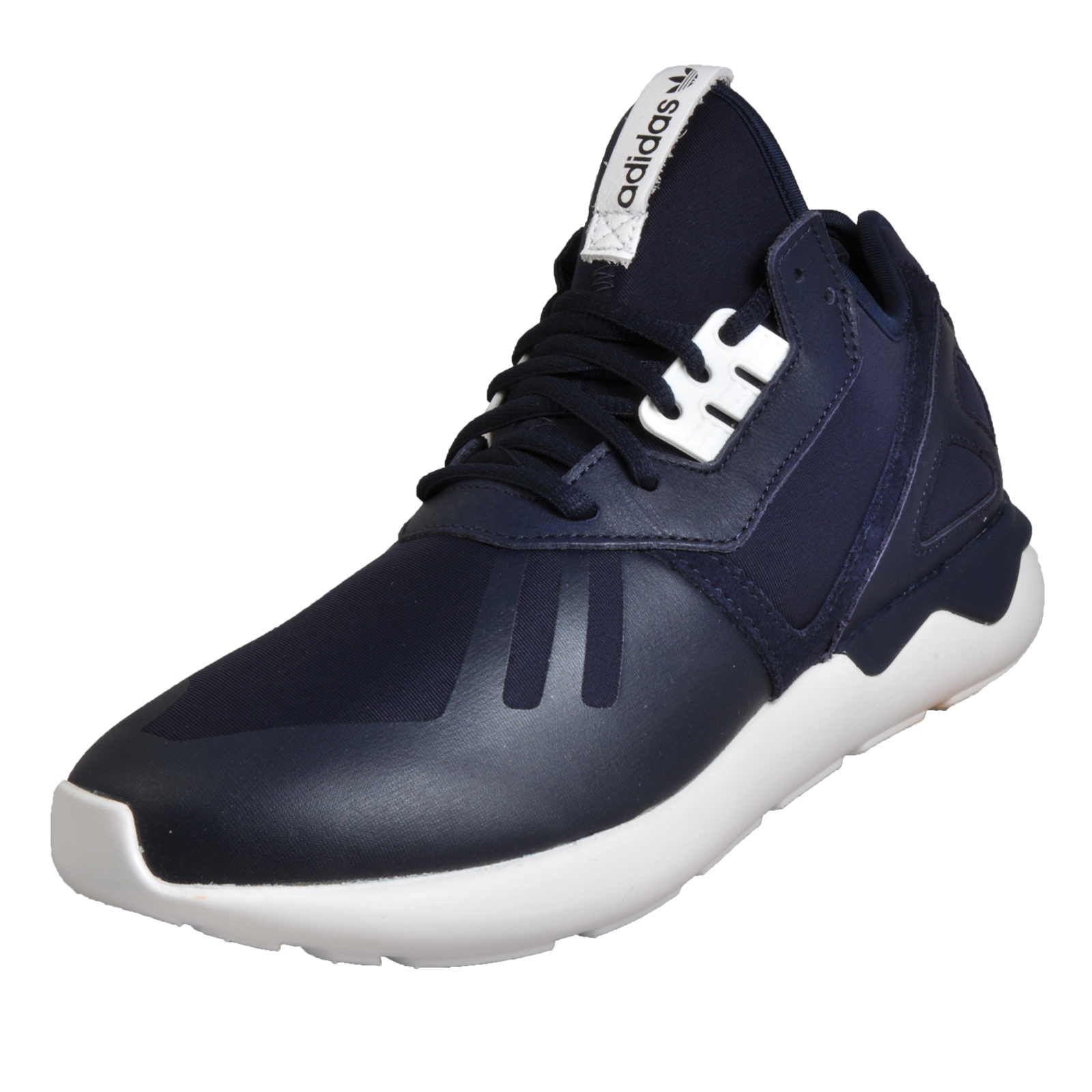 48ae0b3b830b Details about Adidas Originals Tubular Runner Men s Casual Retro Vintage  Trainers Navy