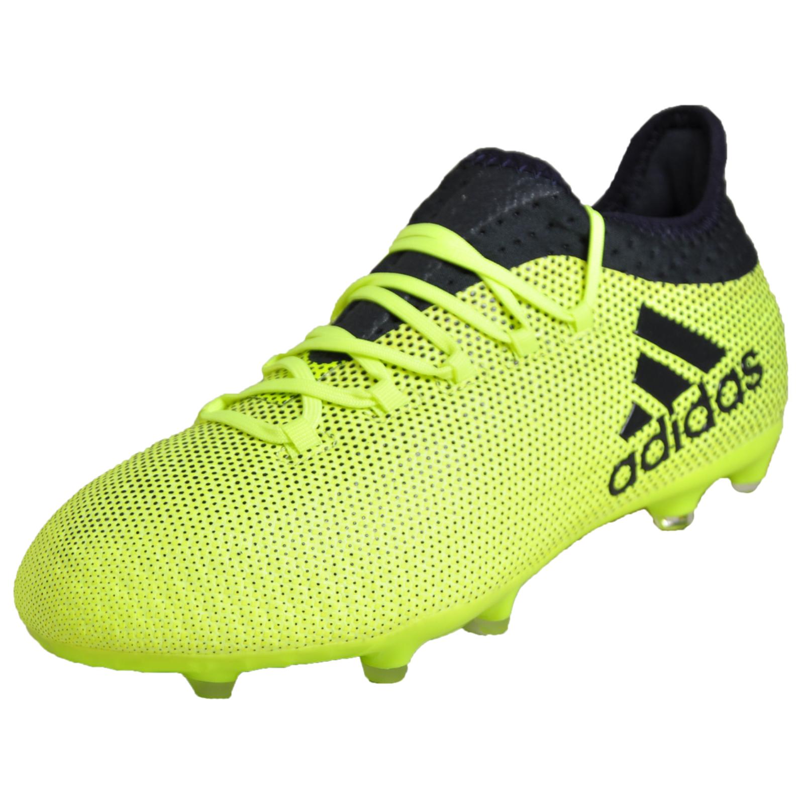 168554f6468 Adidas X 17.1 FG Junior Kids Boys Football Soccer Boots Yellow