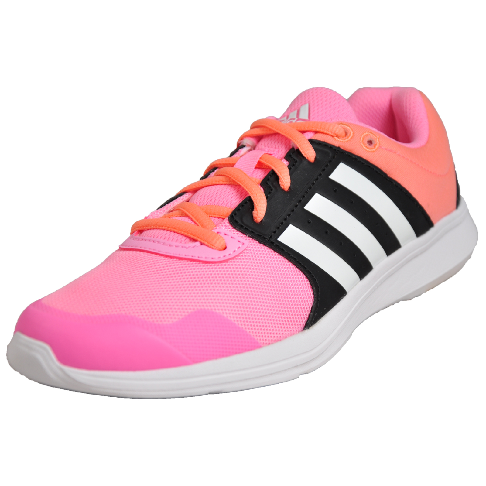 fa4486f842d6 Details about Adidas Essential Fun 2 Womens Ladies Running Gym Fitnee  Workout Trainers Pink
