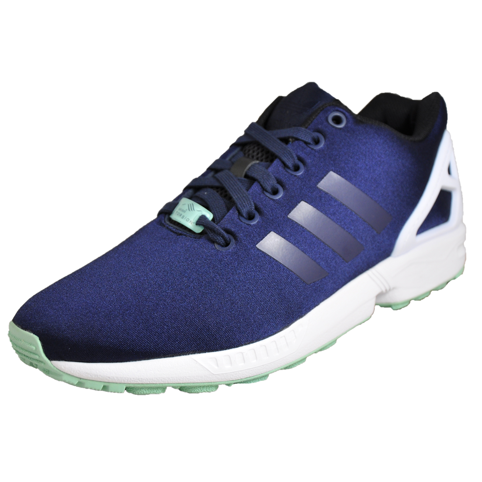 cd88d4c4cd848 Adidas Originals ZX Flux Men s Casual Retro Gym Fashion Trainers Navy