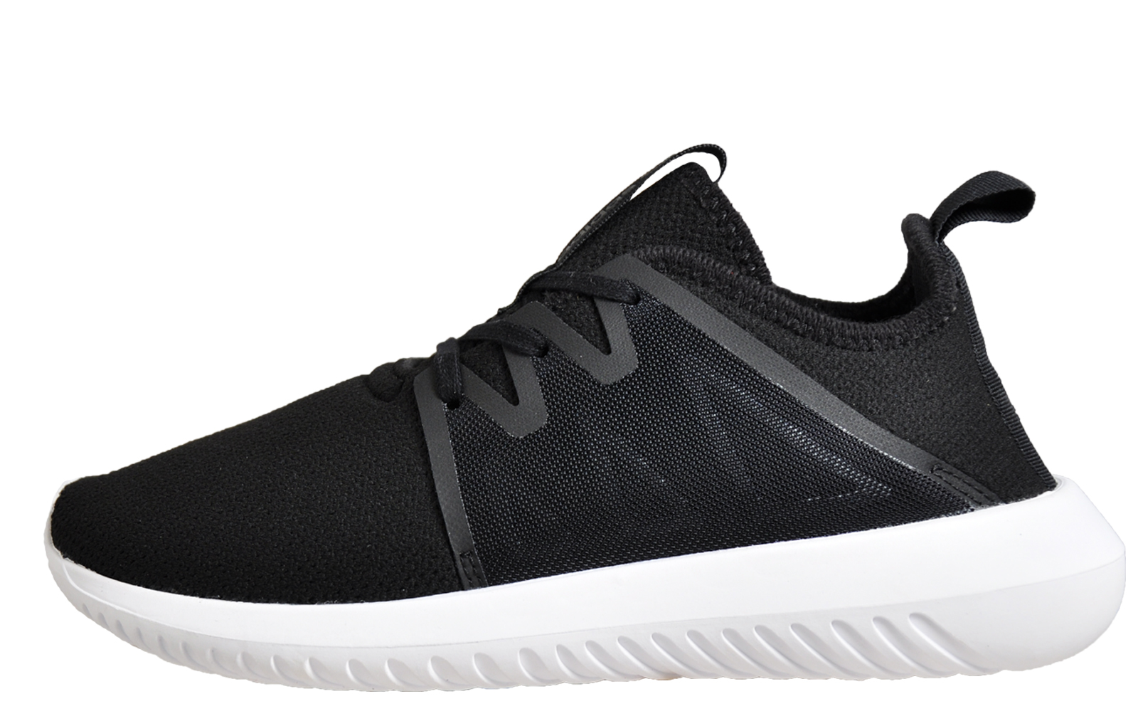new style 2c4b3 3aa76 Adidas Originals Tubular Viral 2 Women s Ladies Running Shoes Gym Trainers  Black