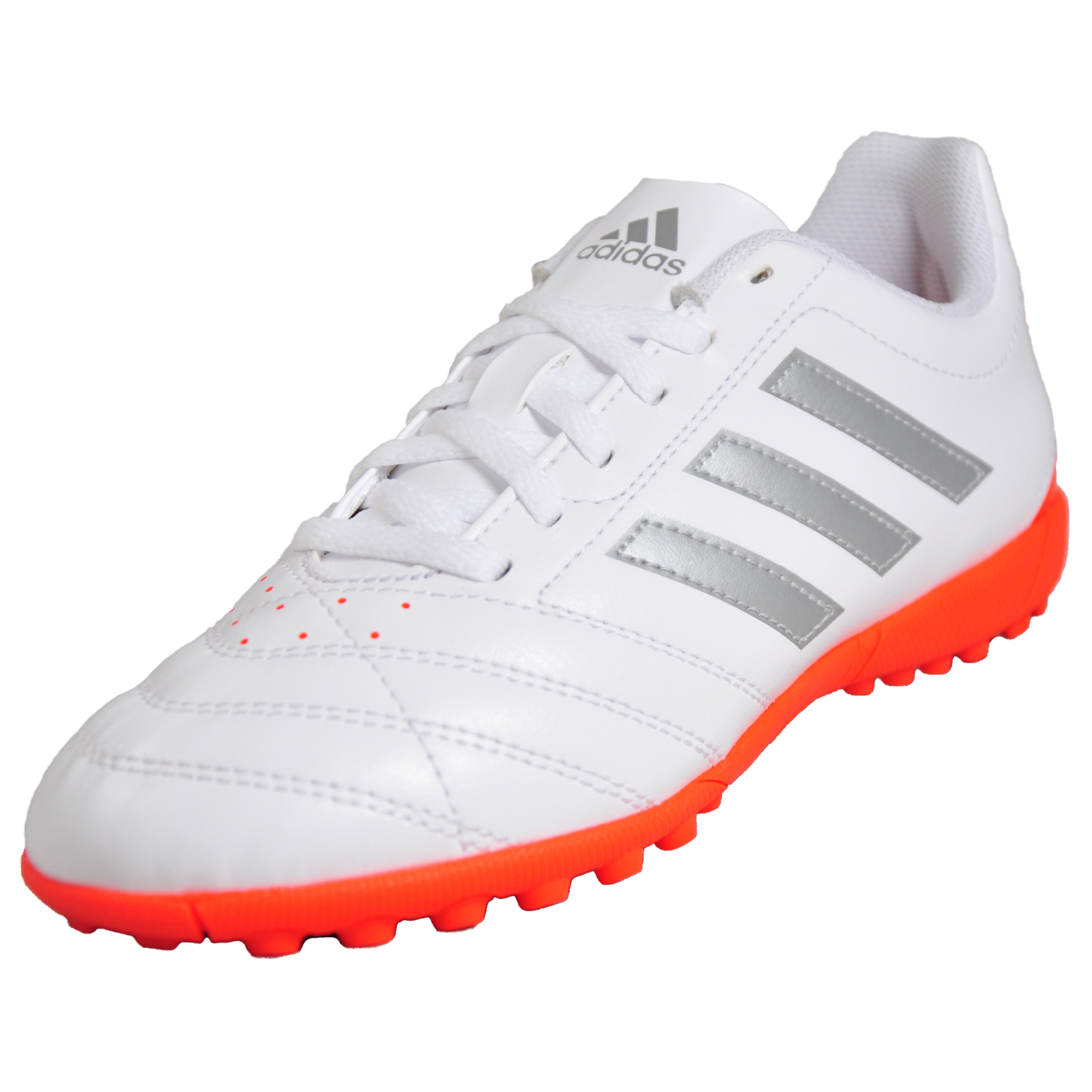 81f3622df9a7 Adidas Goletto V TF Junior Pro Astro Turf Astro Football Trainers White