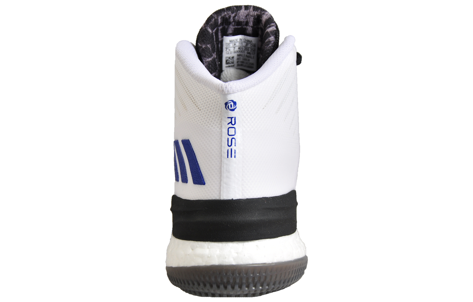pretty nice 7e310 b4897 Adidas D Rose 8 Boost Mens Premium Basketball Court Trainers White
