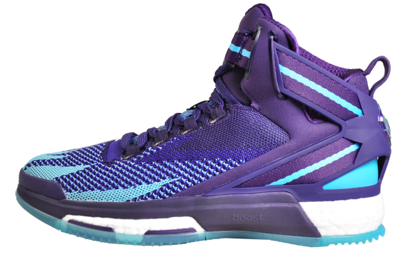 buy online 2dc99 ab11a Adidas D Rose 6 Boost Primeknit Mens Basketball Boots Shoes Fitness Gym  Court Trainers