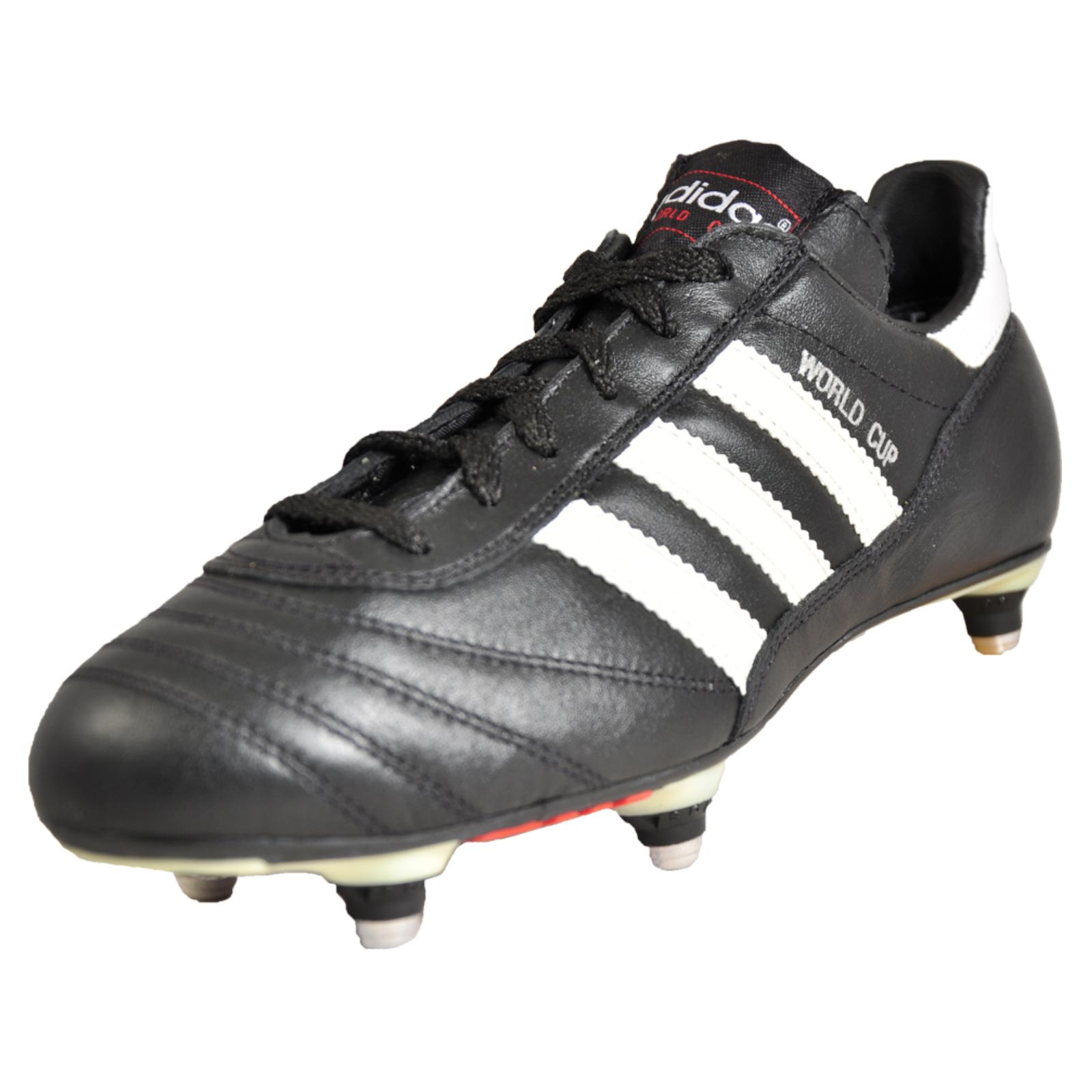 a2de9aa48a3 Adidas World Cup SG Men s Kids Boys Pro Leather Classic Premium Football  Boots Black