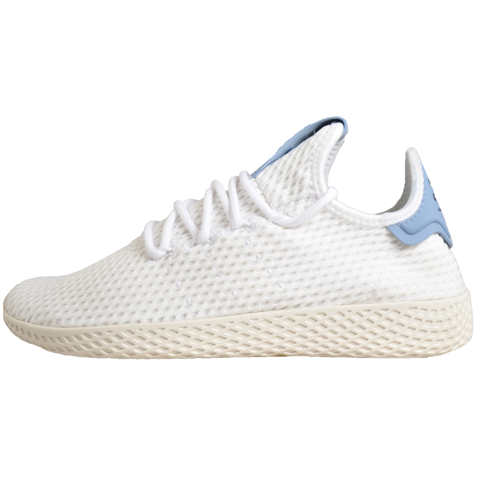 cc2d5eea36bf5 Adidas Originals Pharrell Williams x Tennis Hu Mens Ltd Edition Retro  Classic Trainers White. Manufacturers code  BY8718