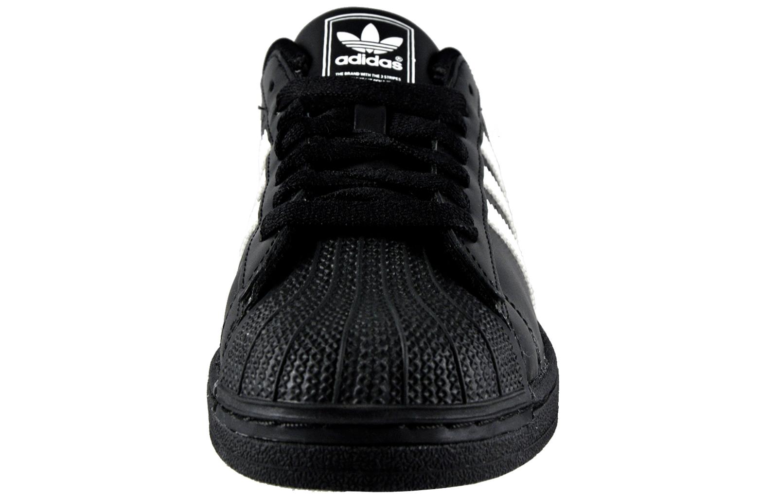 Adidas Originals Superstar 2 Mens Classic Retro Fashion Trainers Black 9b9aba6e6c