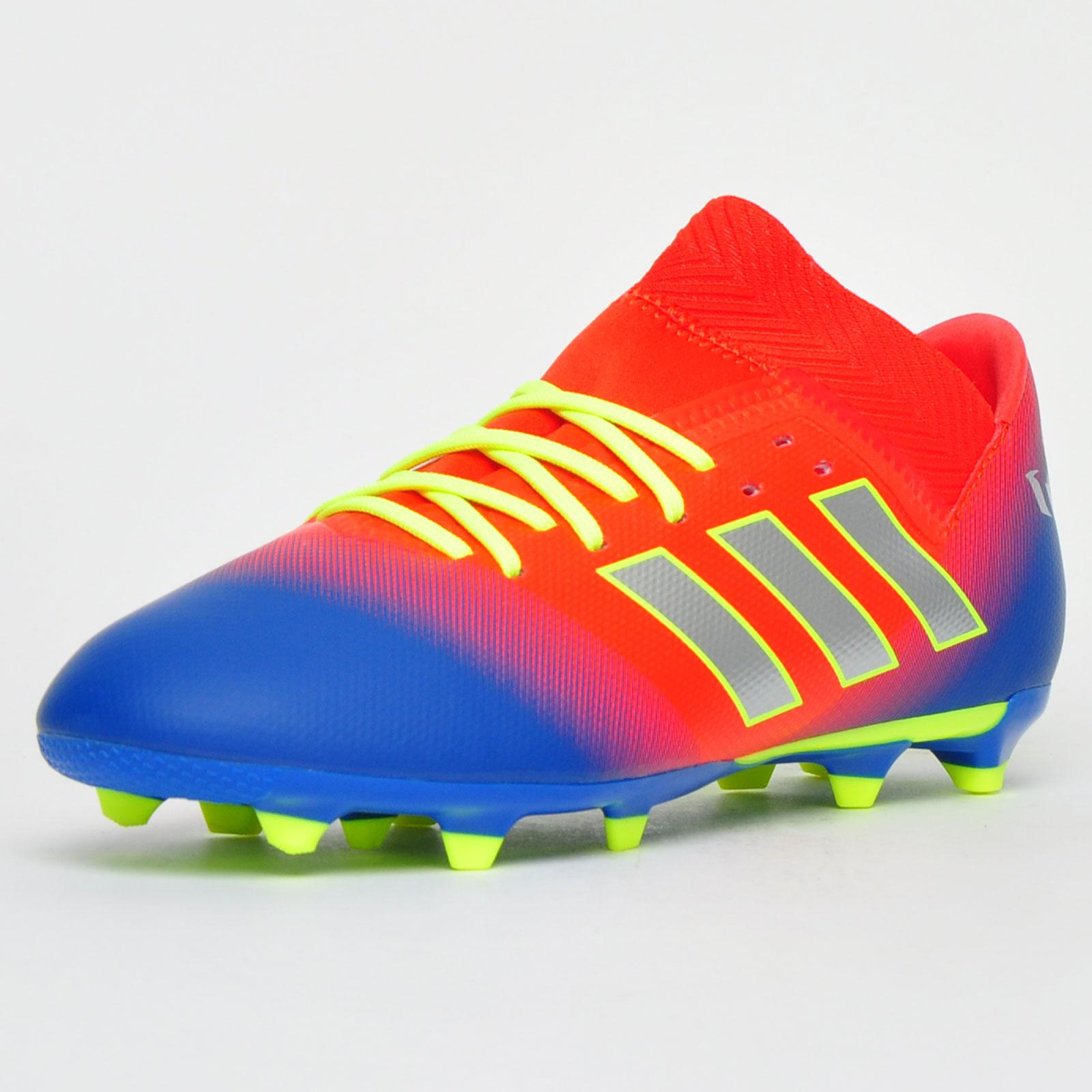 Adidas Nemeziz Messi 18.3 FG Junior Kids Boys Football Soccer ...