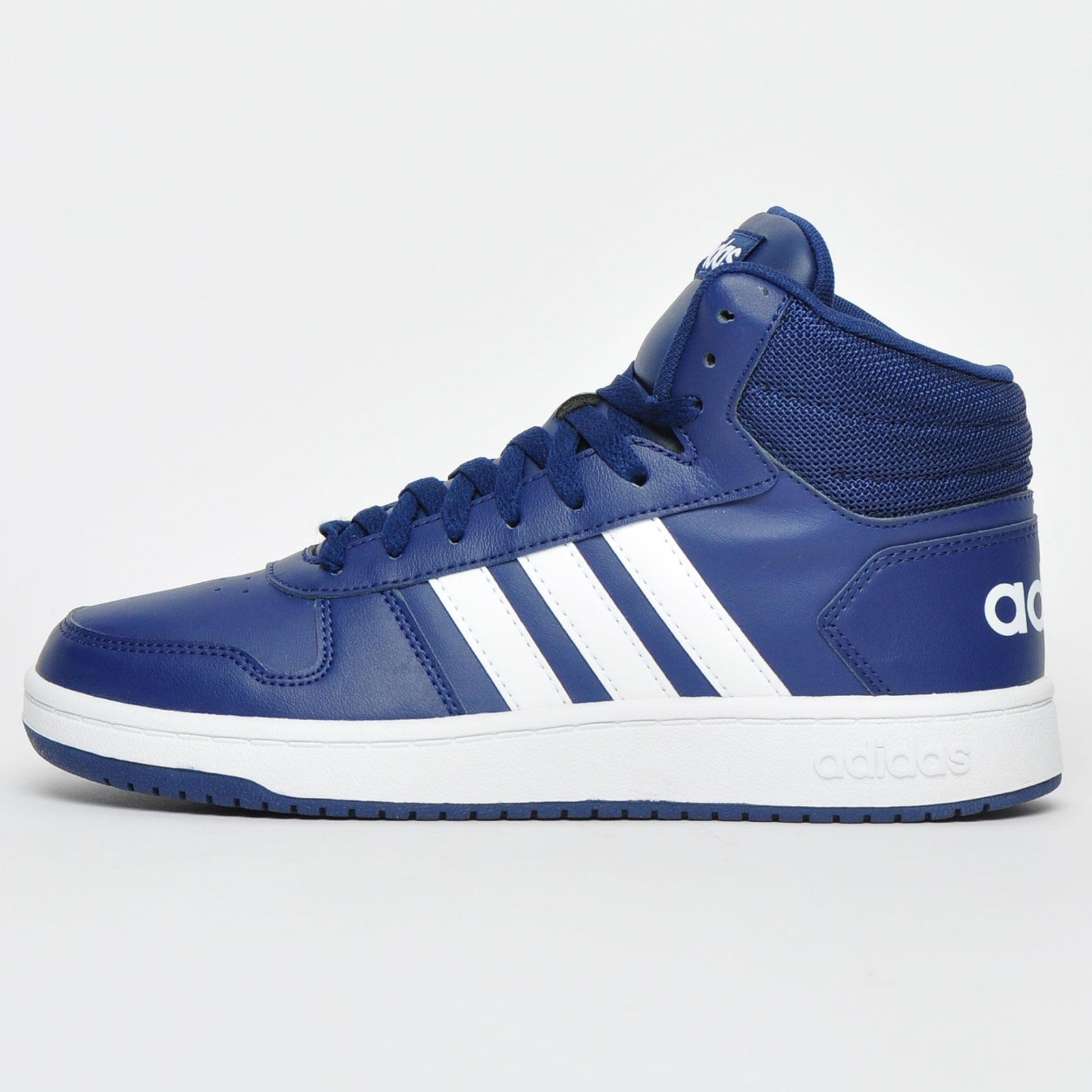Adidas Hoops Mid 2.0 Mens Hi Top Retro Fashion Trainers B Grade ...