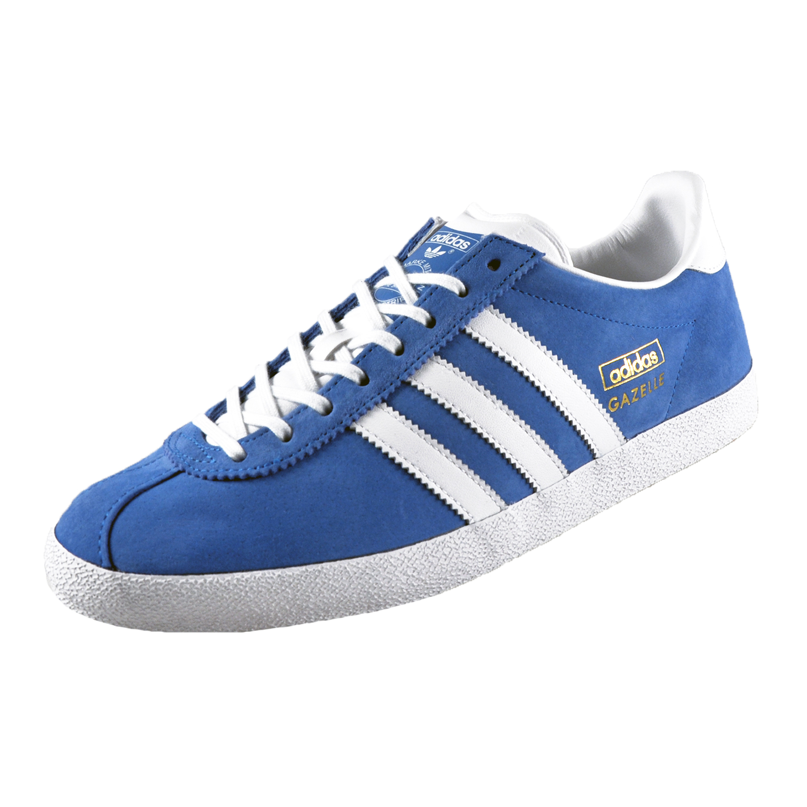 Men's Shoes Buy One Get One Free Athletic Shoes Dedicated Mens Adidas Originals Gazelle Og Leather Trainers Size 12
