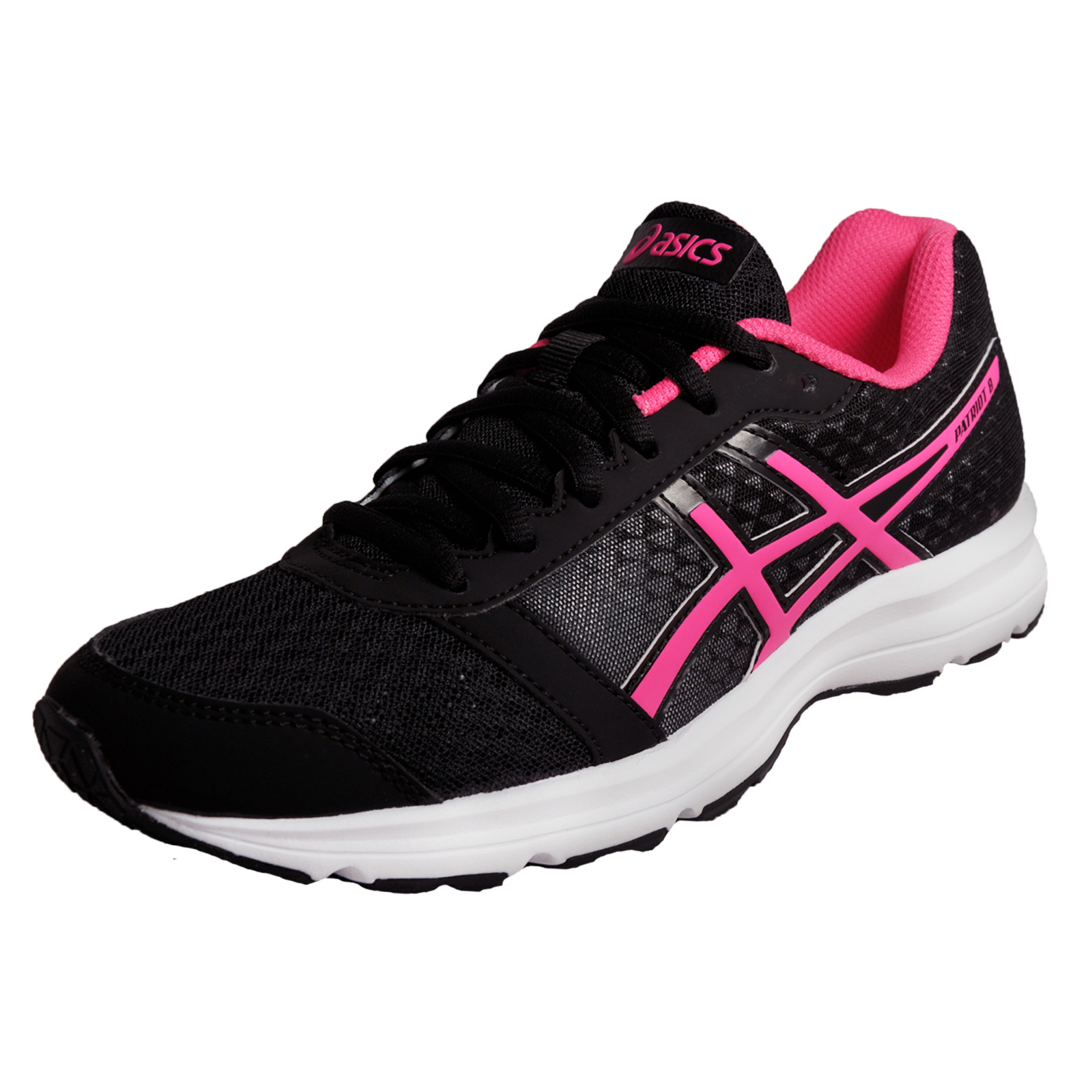 Asics Patriot 8 Womens Running Shoes Fitness Gym Trainers