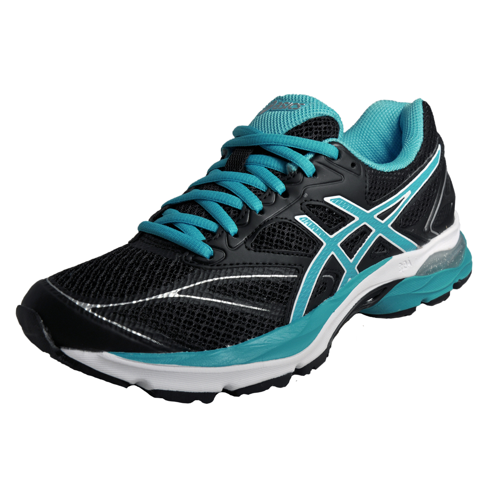 07d8036fe385 Details about Asics Gel Pulse 8 Womens Running Shoes Fitness Gym Trainers  Black