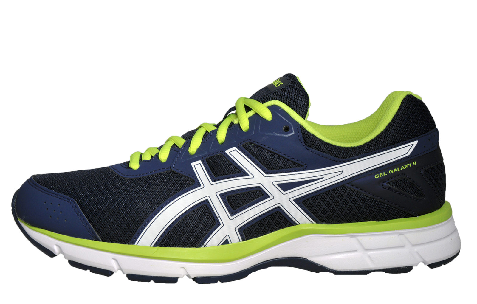 asics gel galaxy 9 mens running shoes fitness gym trainers. Black Bedroom Furniture Sets. Home Design Ideas