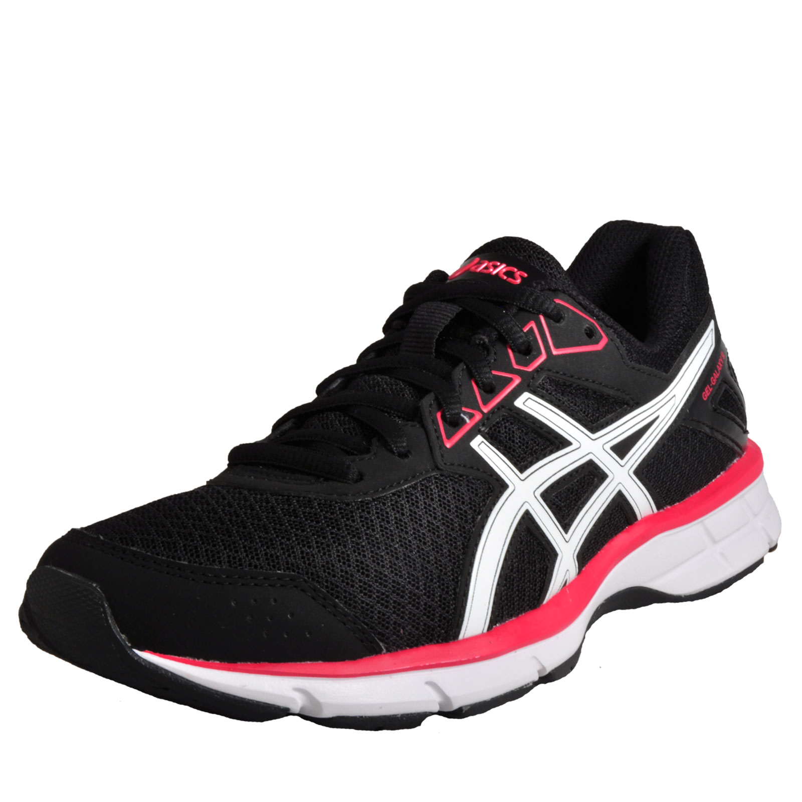 Asics Gel Galaxy 9 Women's Running Shoes Gym Fitness Trainers Black