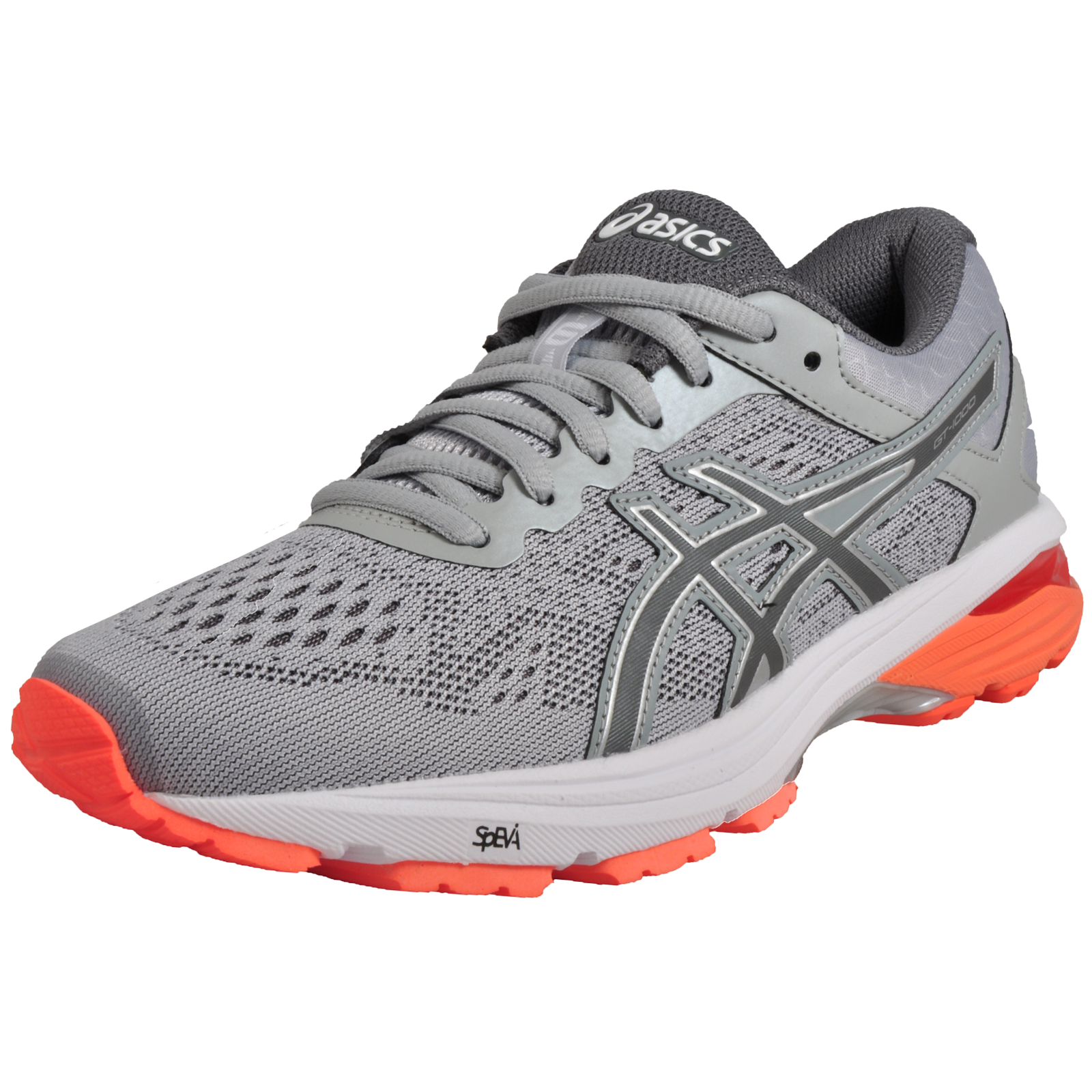 Asics GT 1000 6 Womens Premium Performance Running Shoes Mid Grey