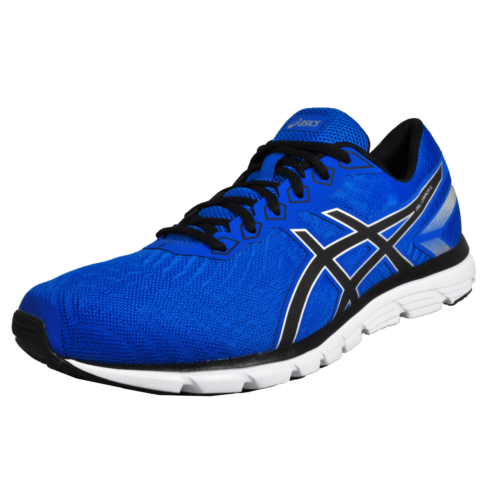 Asics Gel Zaraca 5 Mens Running Shoes Fitness Gym Trainers Blue