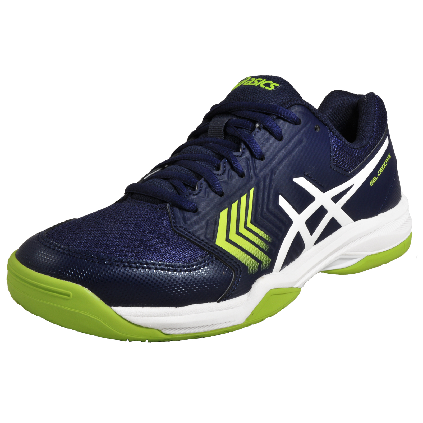 533440ef7fe4 Details about Asics Gel Dedicate 5 Mens Premium Performance Tennis Court  Trainers Blue