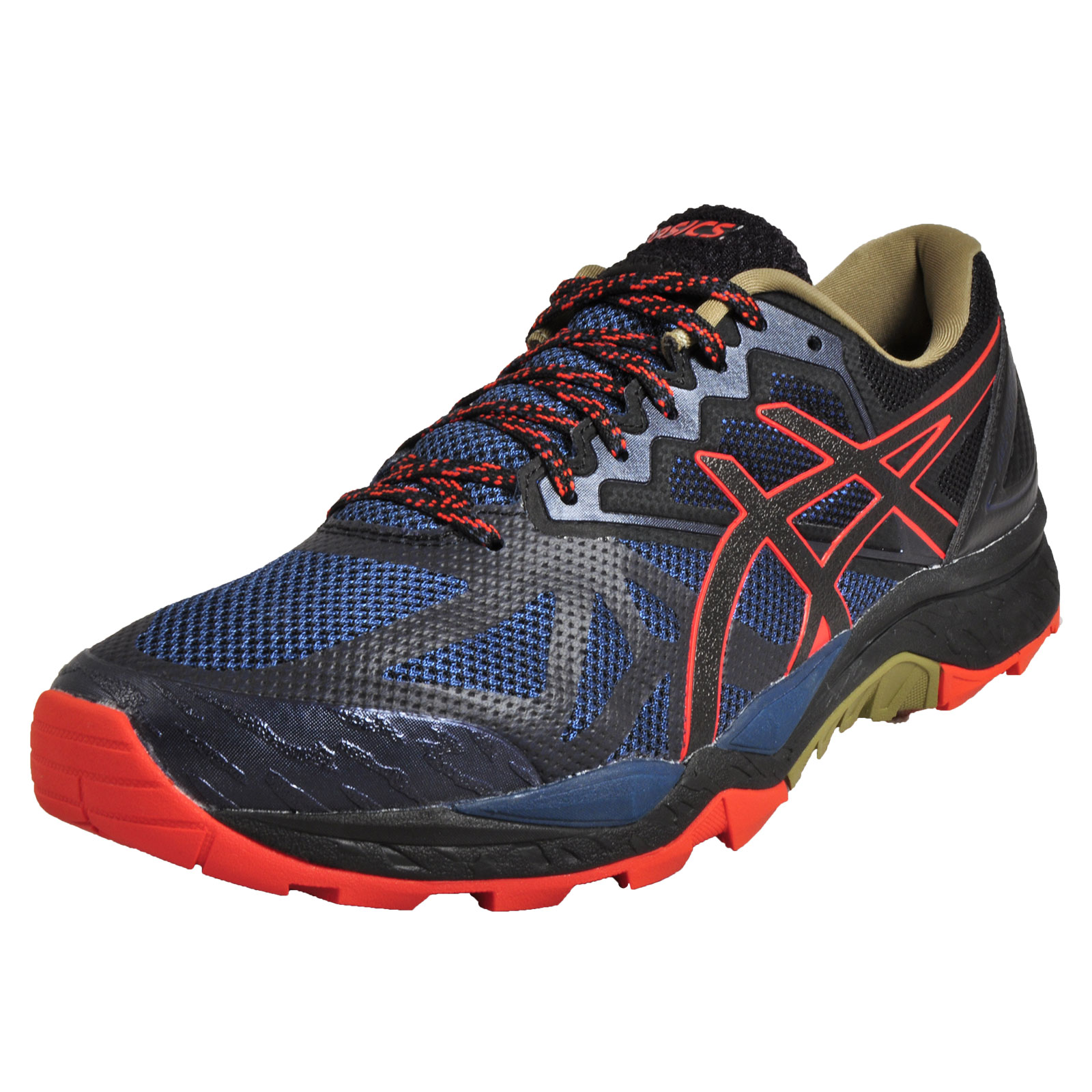 Asics Gel FujiTrabuco 6 Men's High Performance All Terrain Trail Running  Shoes Blue