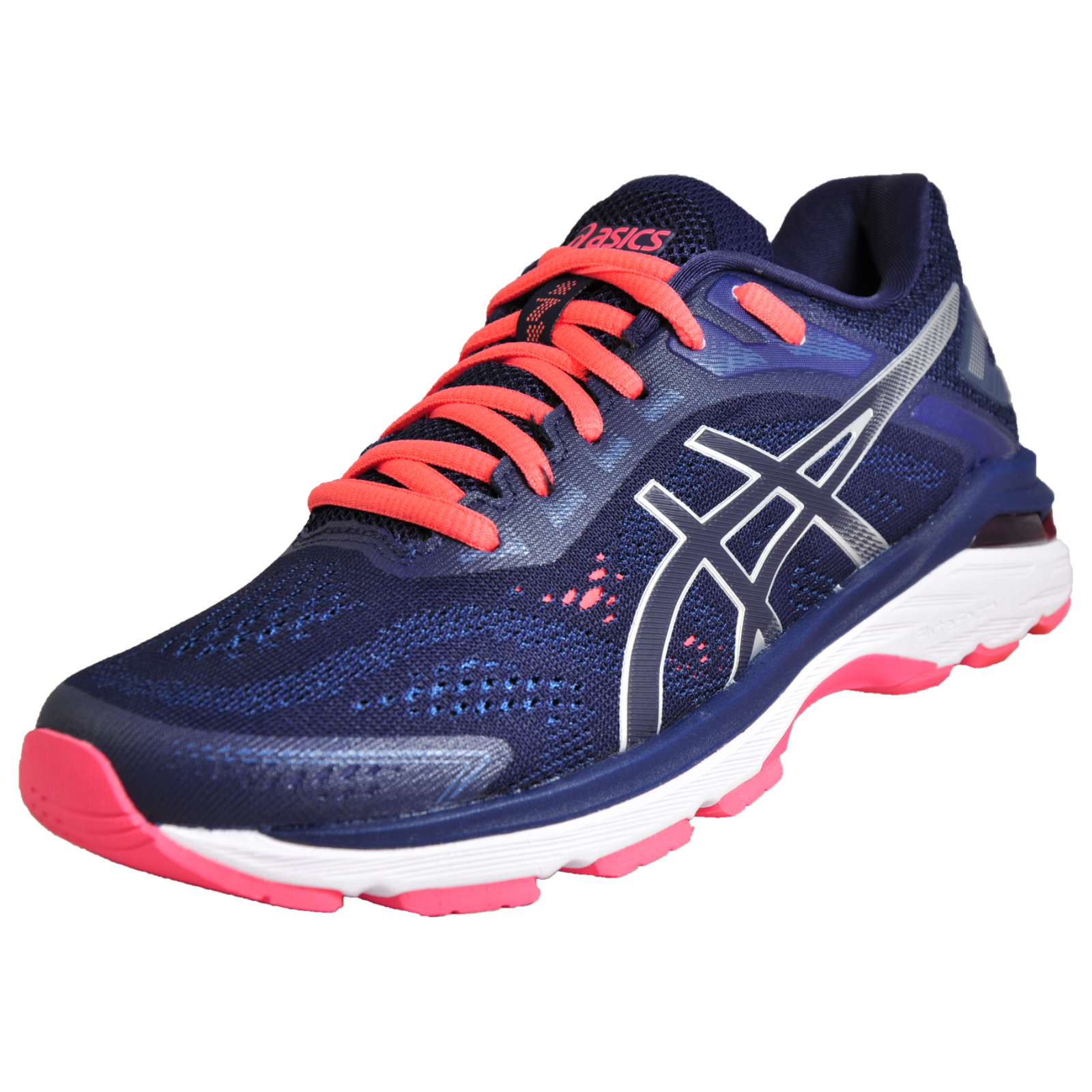 d34d4966687e Details about Asics GT 2000 7 Womens Premium Elite Running Shoes Trainers  Blue New In 2019
