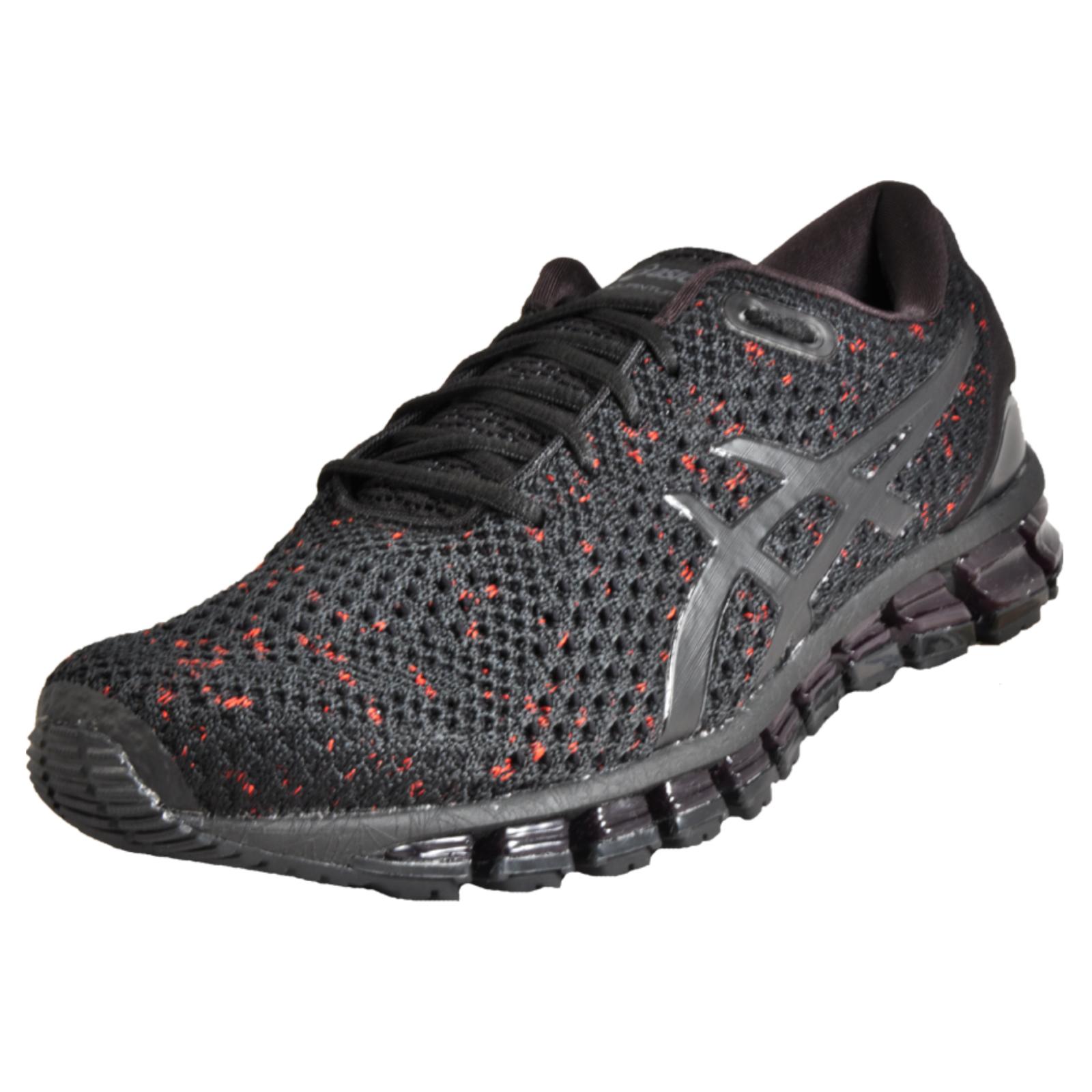 f707a537bb6d Details about Asics Gel Quantum 360 Knit 2 Men s Premium Running Shoes Gym  Trainers Black