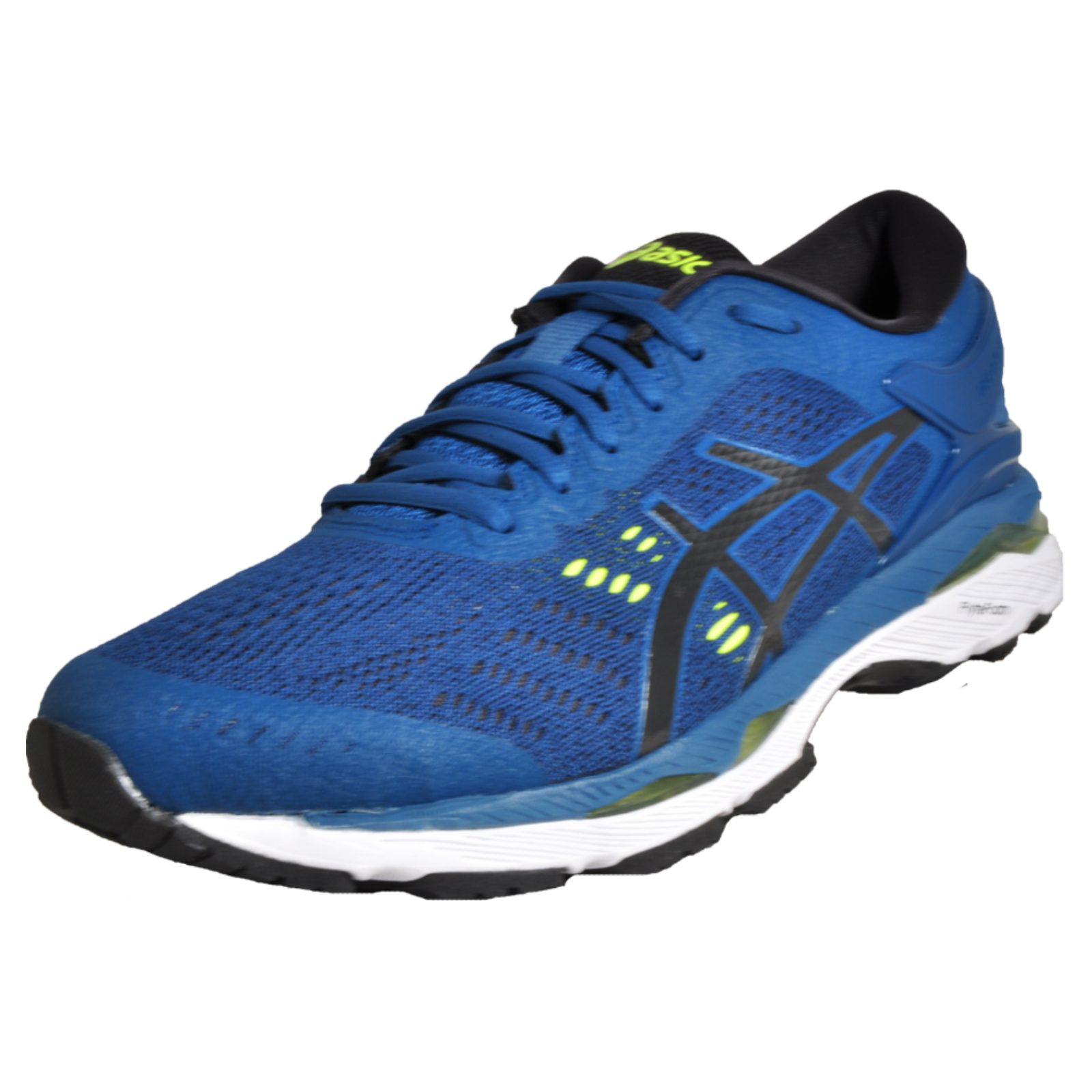 48be8f315c90 Details about Asics Gel Kayano 24 Men's Premium Running Shoes Performance  Trainers Blue