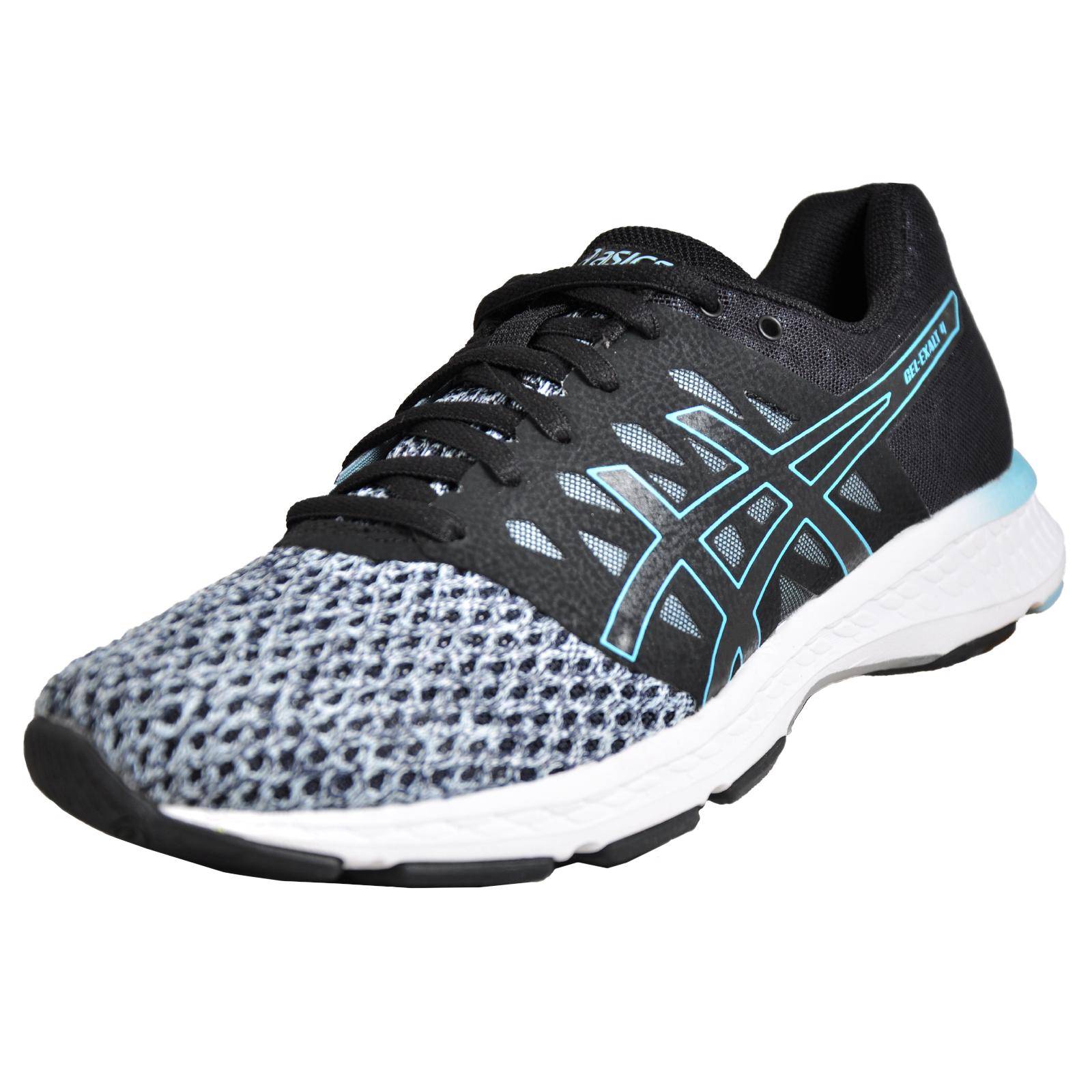 9421b6bf3ba Asics Gel Exalt 4 Womens Premium Running Shoes Fitness Gym Trainers Black
