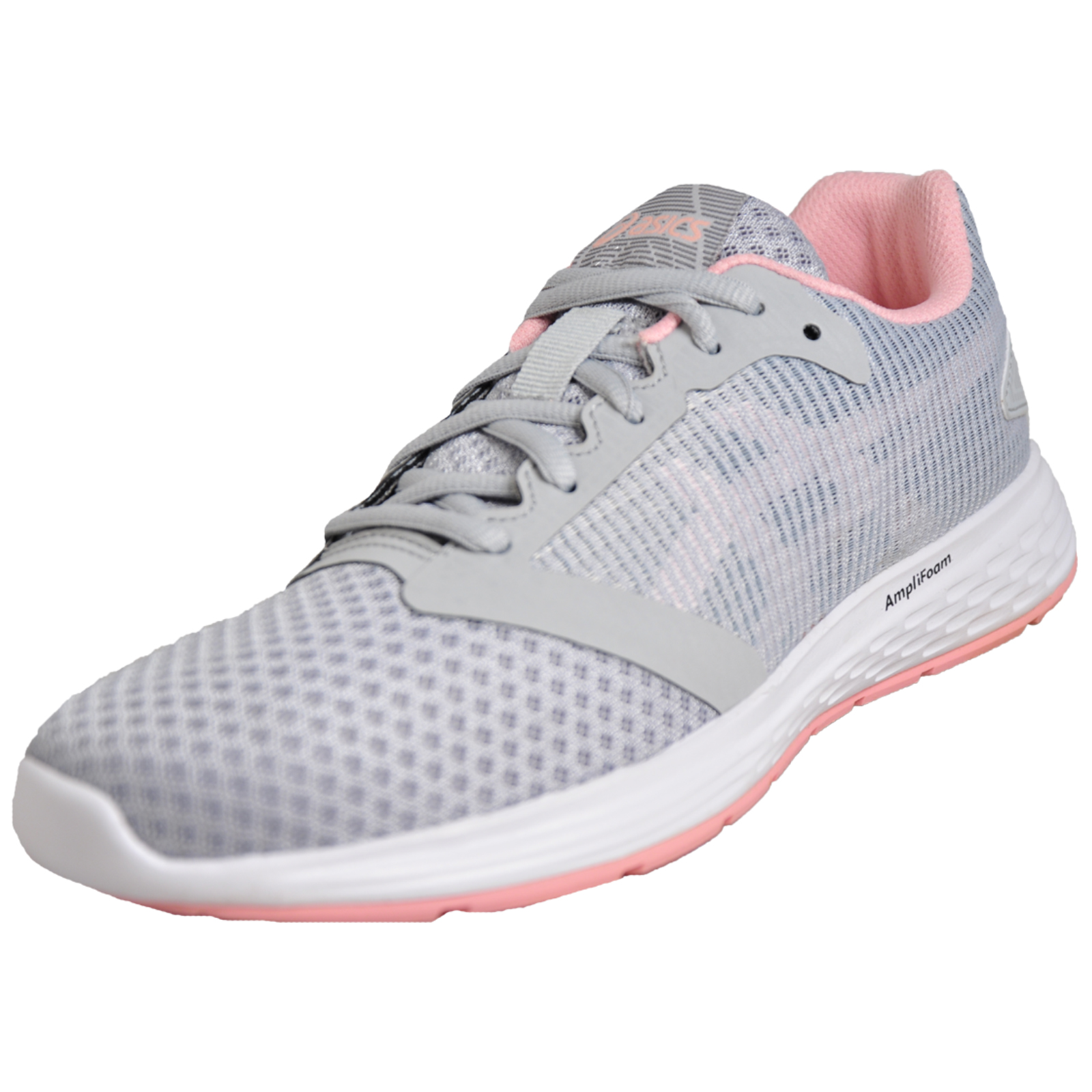 feee18dd29c Details about Asics Patriot 10 Womens Running Shoes Fitness Gym Sports  Trainers Grey