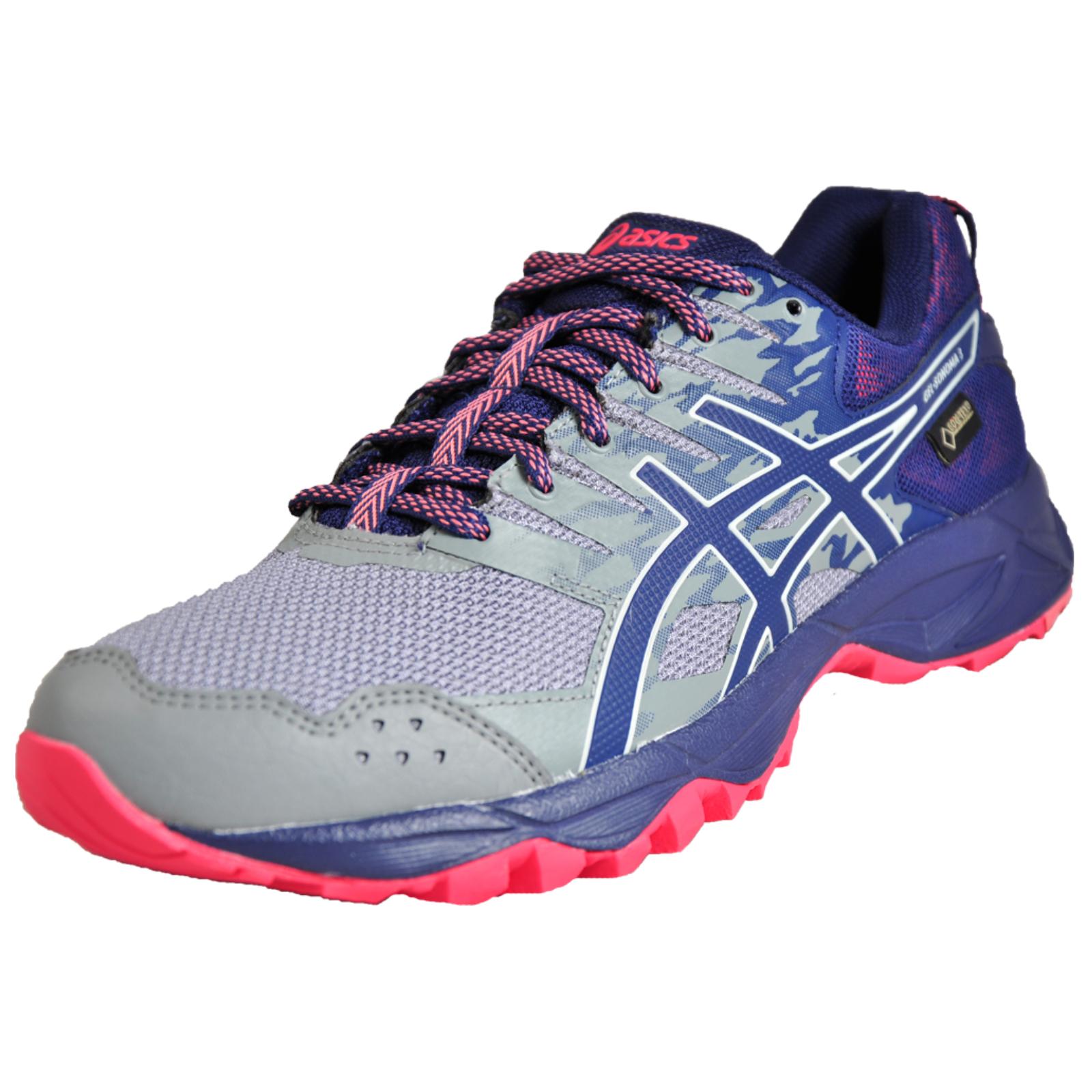 d3847be84953b Detalles acerca de Asics Gel Sonoma 3 GTX Goretex impermeable para mujer  All Terrain Trail Running Shoe- mostrar título original