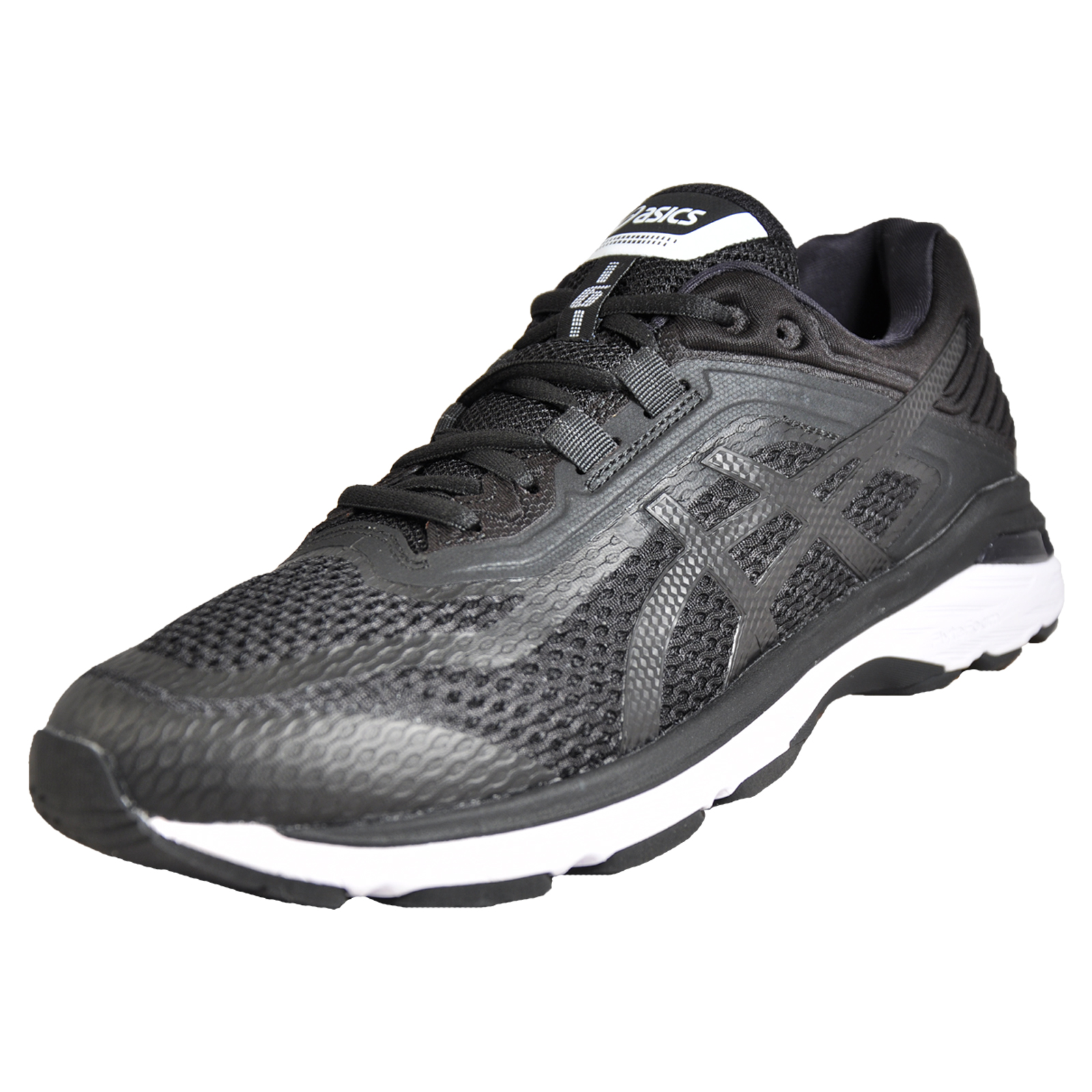 pretty nice 7107a 741c6 Details about Asics GT-2000 6 Men s Premium Running Shoes Gym Fitness  Trainers Black