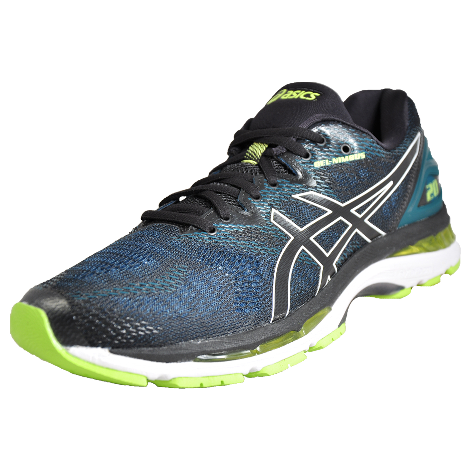 8864f1ddaa5f Details about Asics Gel Nimbus 20 Mens Premium High Perfomace Running Shoes  Trainers Black