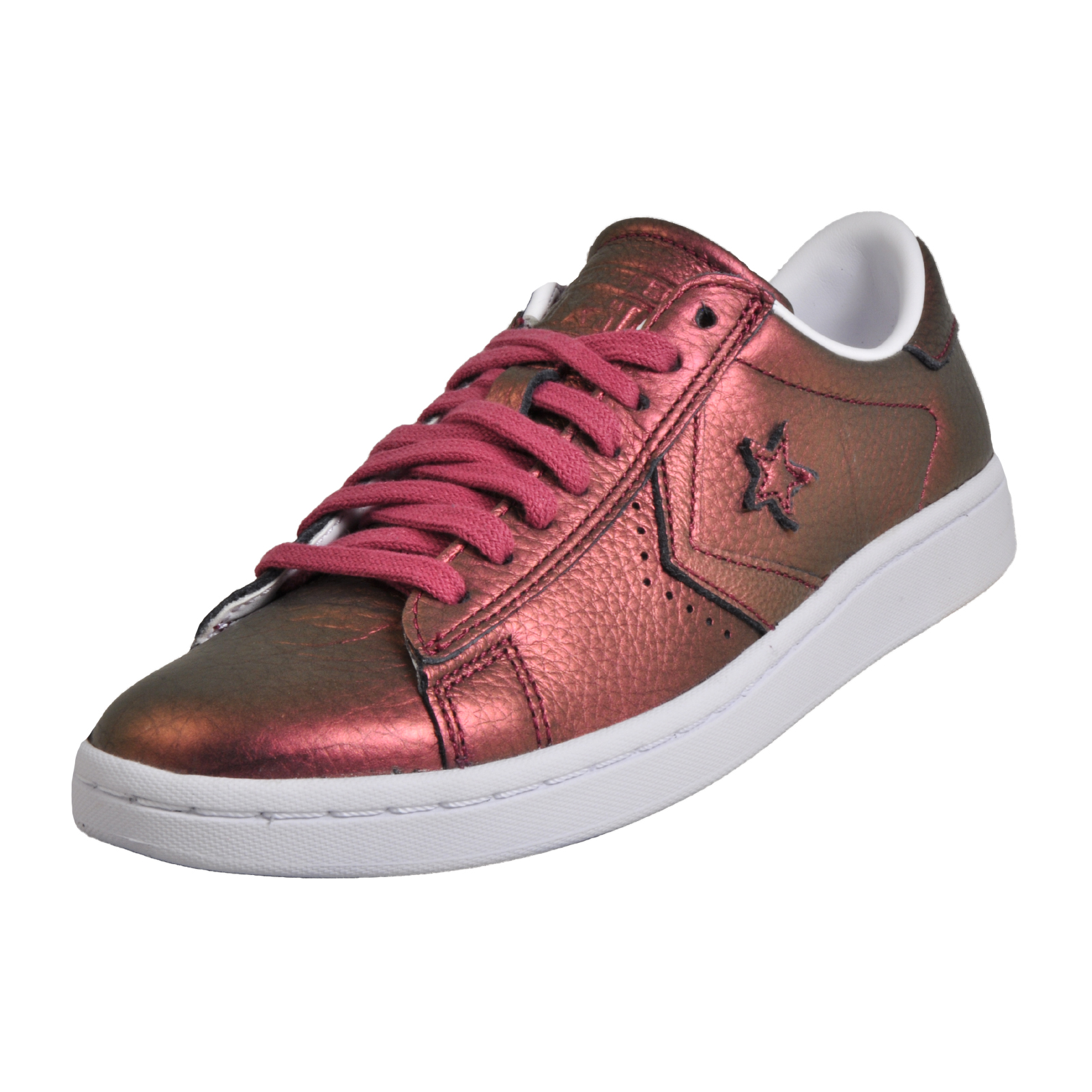 28c5707e301395 Converse Star Player All Star Women s Pro Leather LP Ox Low Vintage Plimsol  Trainers