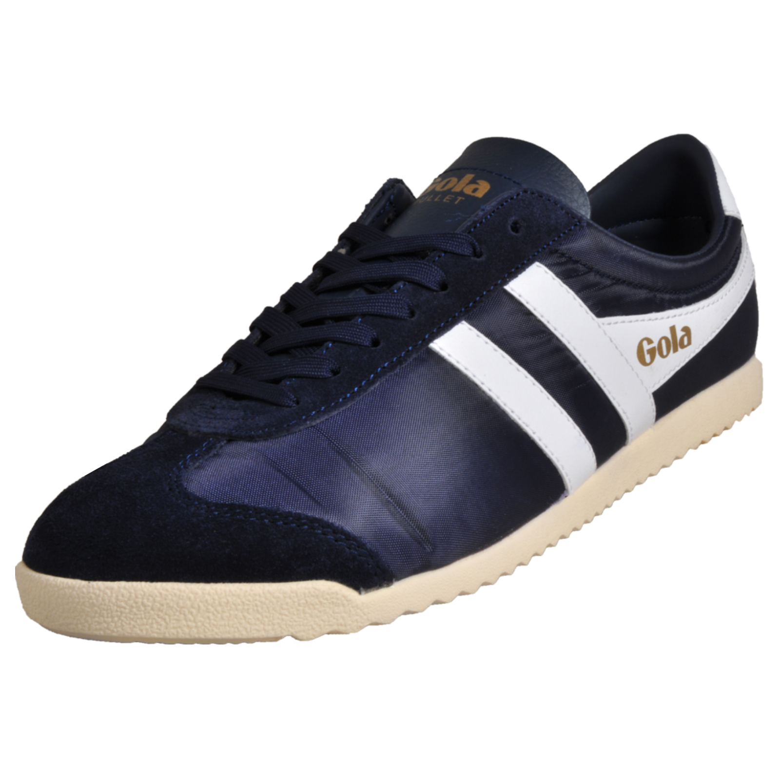448c48167d7 Details about Gola Classics Bullet Nylon Men's Causal Retro vintage Fashion  Trainers Navy