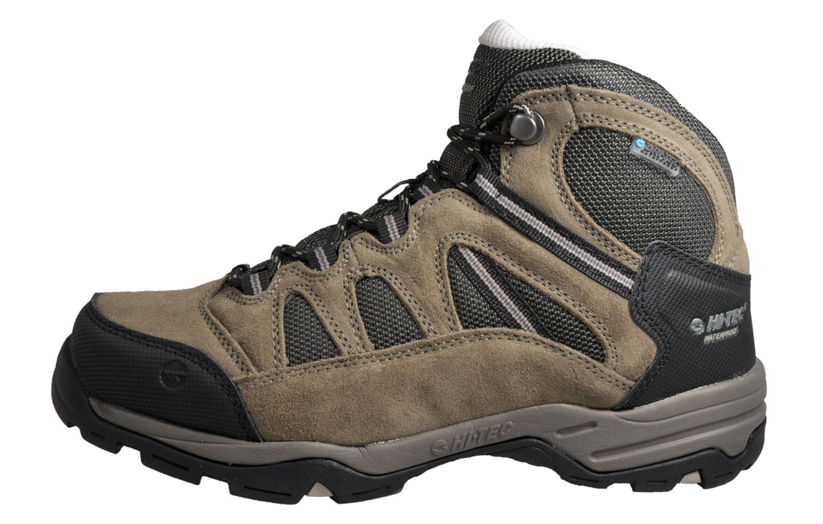 Hi Tec Bandera II WP Men's Waterproof Outdoor All Terrain Hiking Boots Brown