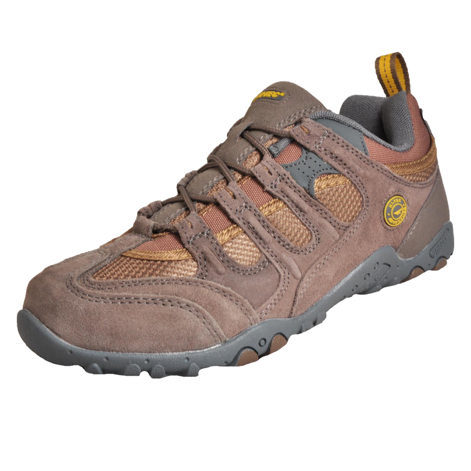 61b2ee66c59 Detalles acerca de Hola Tec Quadra Clásico Para hombres Zapatos para  caminar para senderismo y al aire libre Marrón- mostrar título original