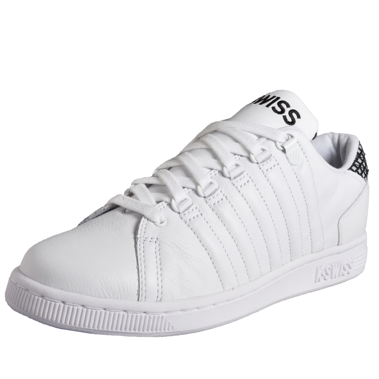 Details about K Swiss Lozan III Tongue Twister Men s Classic Casual Leather  Trainers White df6480d1d