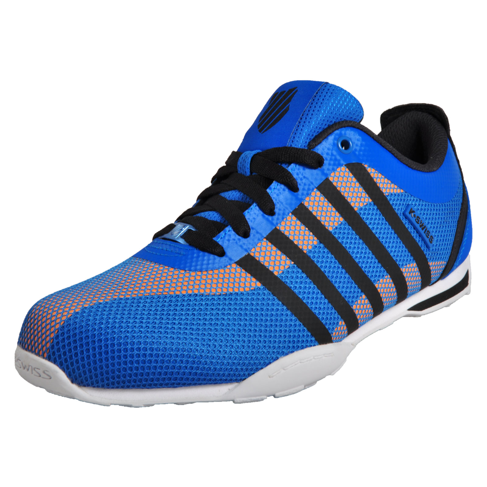 Details about K-Swiss Mens Arvee 1.5 Tech Trainers Low Retro Style Iconic  Athletic Shoes Blue 66b313a0d