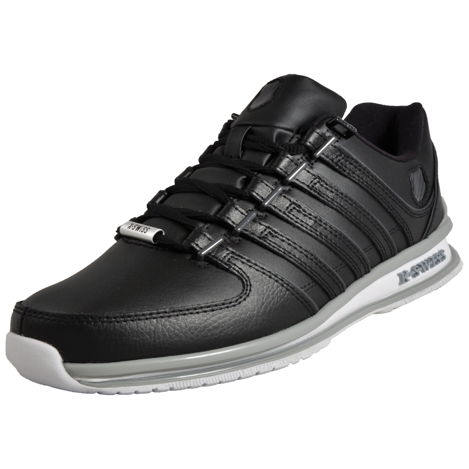 96c4d3f5bc8b1b Details about K Swiss Rinzler SP Limited Edition Mens Classic Casual Retro  Trainers Black