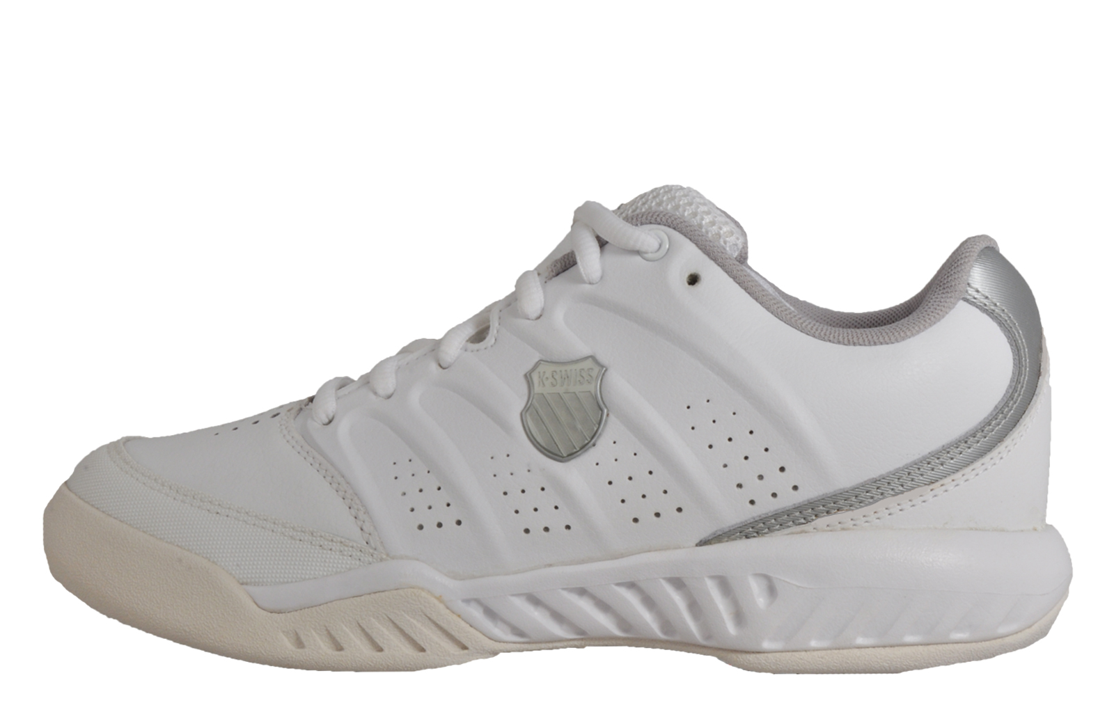 515718bf16f5 K Swiss Ultrascendor II Mens Court Fitness Gym Leather Trainers White UK 9  Only