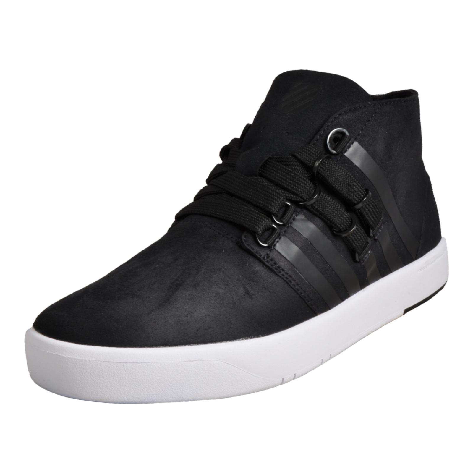 56937f0ff6056 K Swiss D R Cinch Chukka Mens Classic Casual Fashion Sneaker Desert Boot  Black