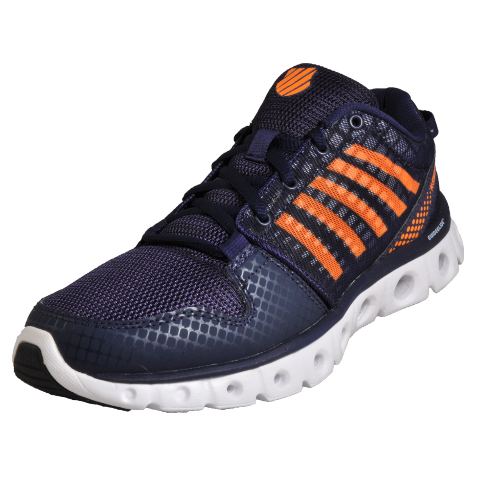99990eb6625b K Swiss X Lite ST CMF Men s Memory Foam Running Shoes Gym Trainers Navy