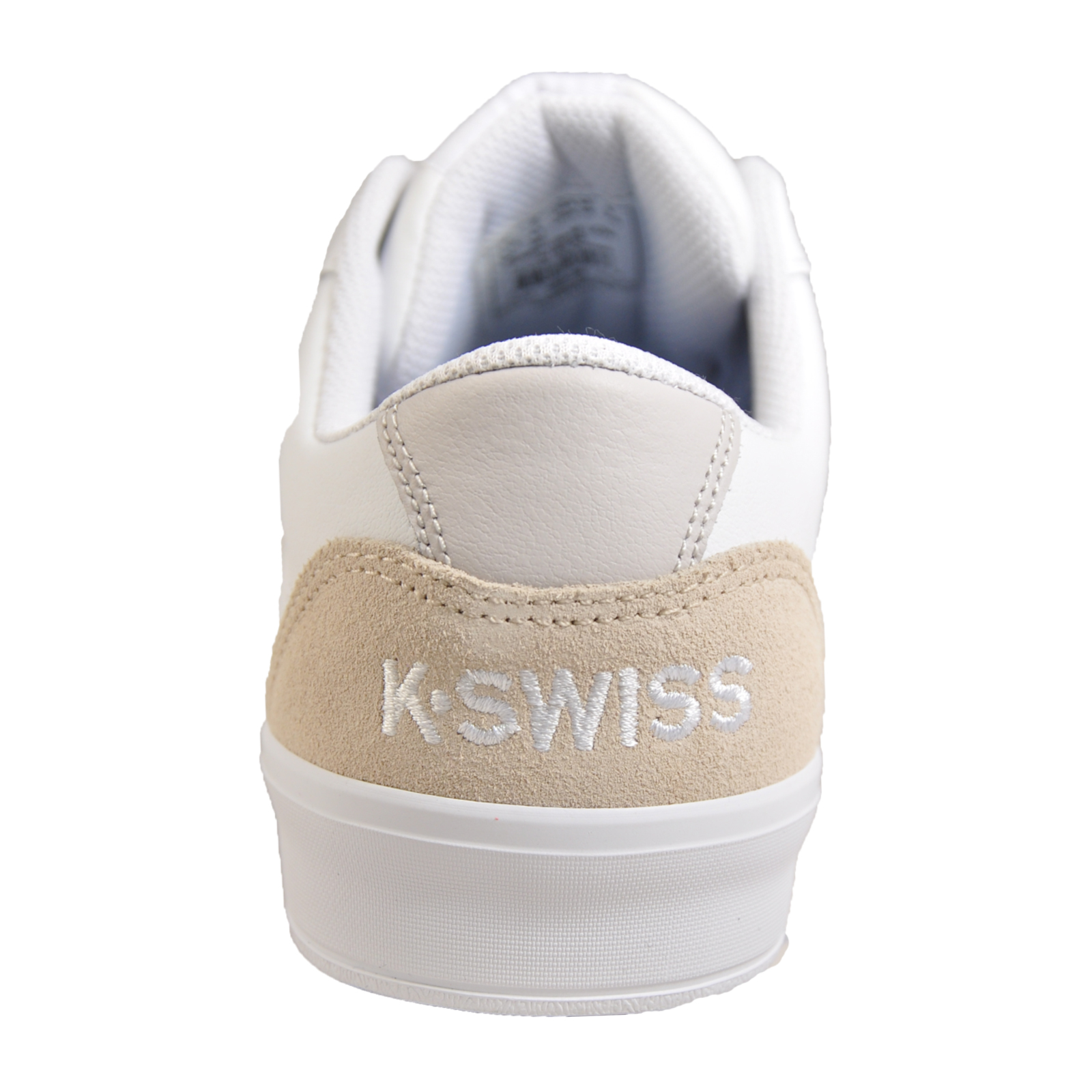 dfc0f6fe70a39 K Swiss Addison Vulc Men s Leather Court Fashion Trainers White
