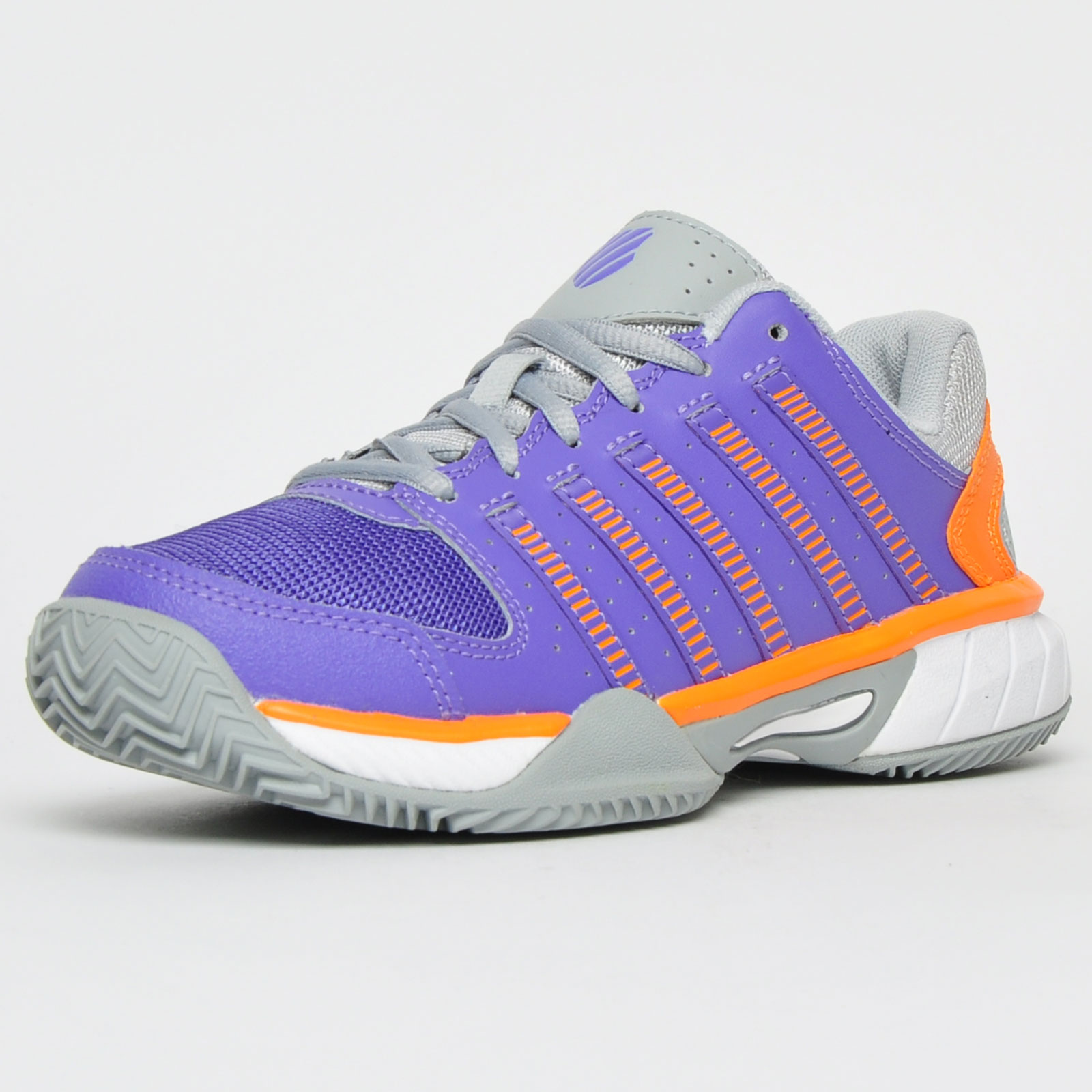 K Swiss Express LTR HB Womens Classic Casual Court Tennis Shoes Trainers Purple