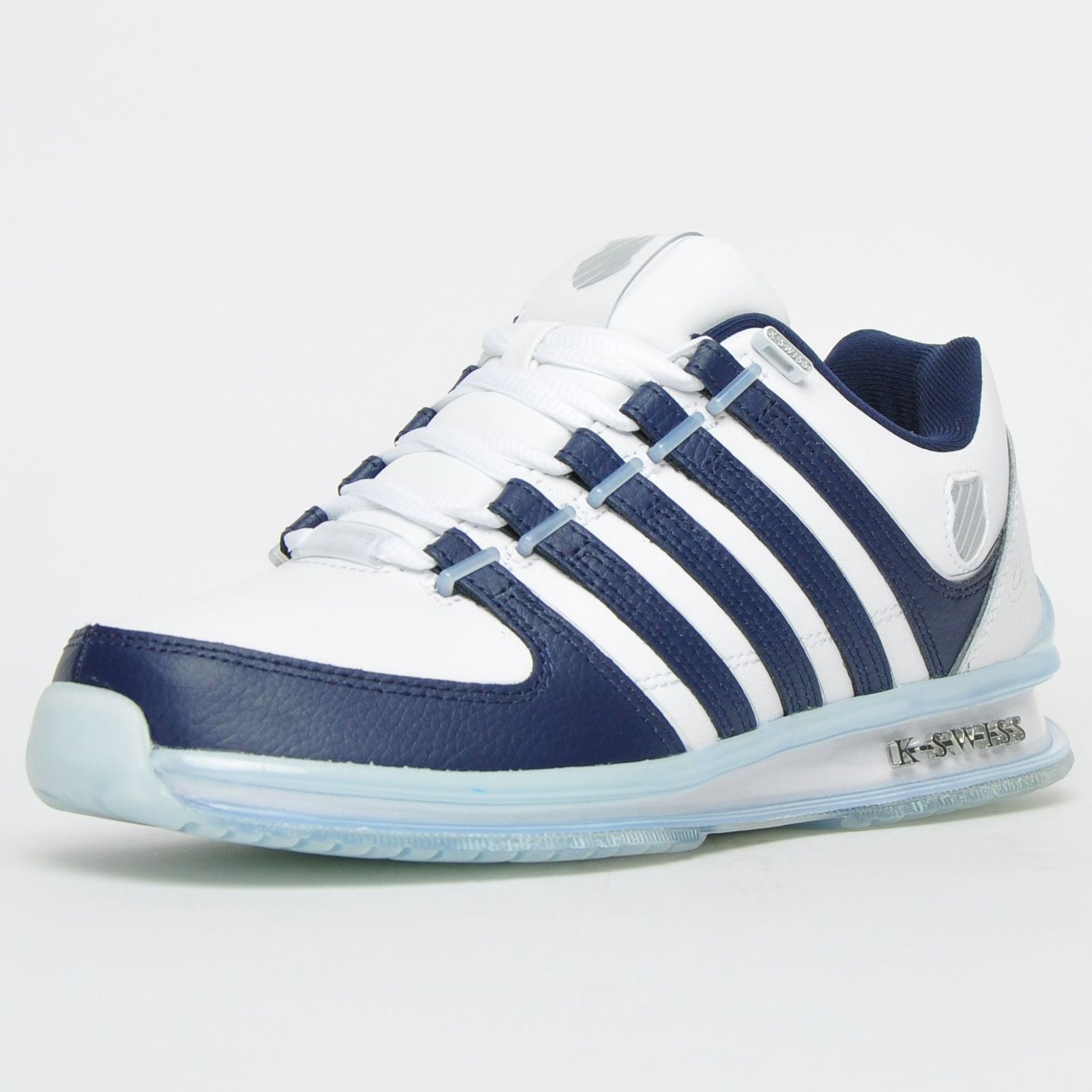 Details about  /K Swiss Rinzler 15 Year Anniversary Mens Classic Ltd Edition Leather Trainers